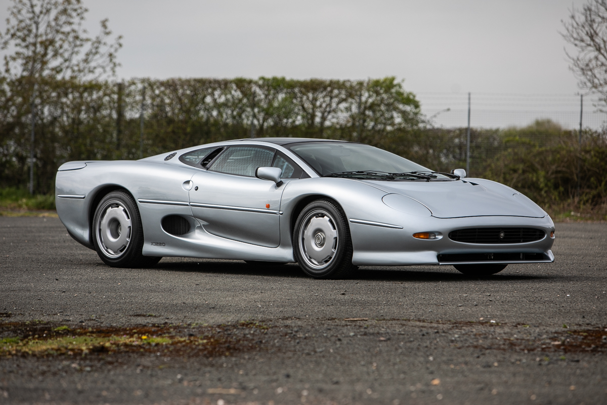 The XJ220 took the crown as the fastest production car for some time