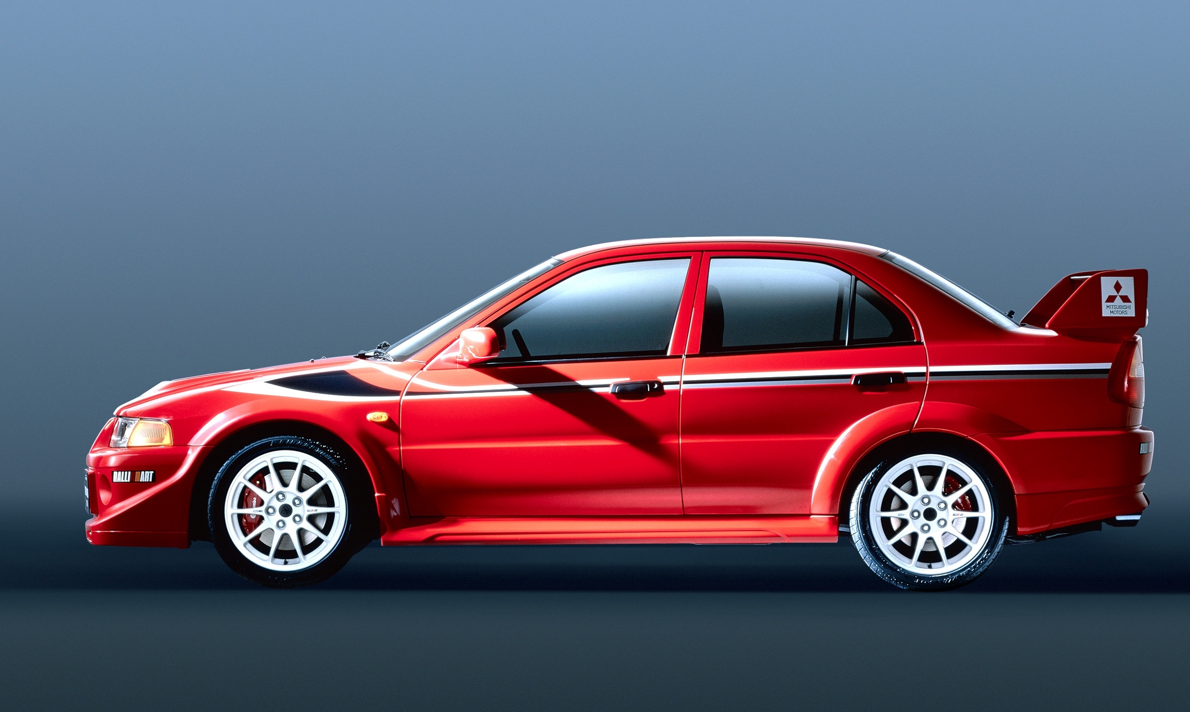The Lancer Evo took huge amounts of inspiration from rallying