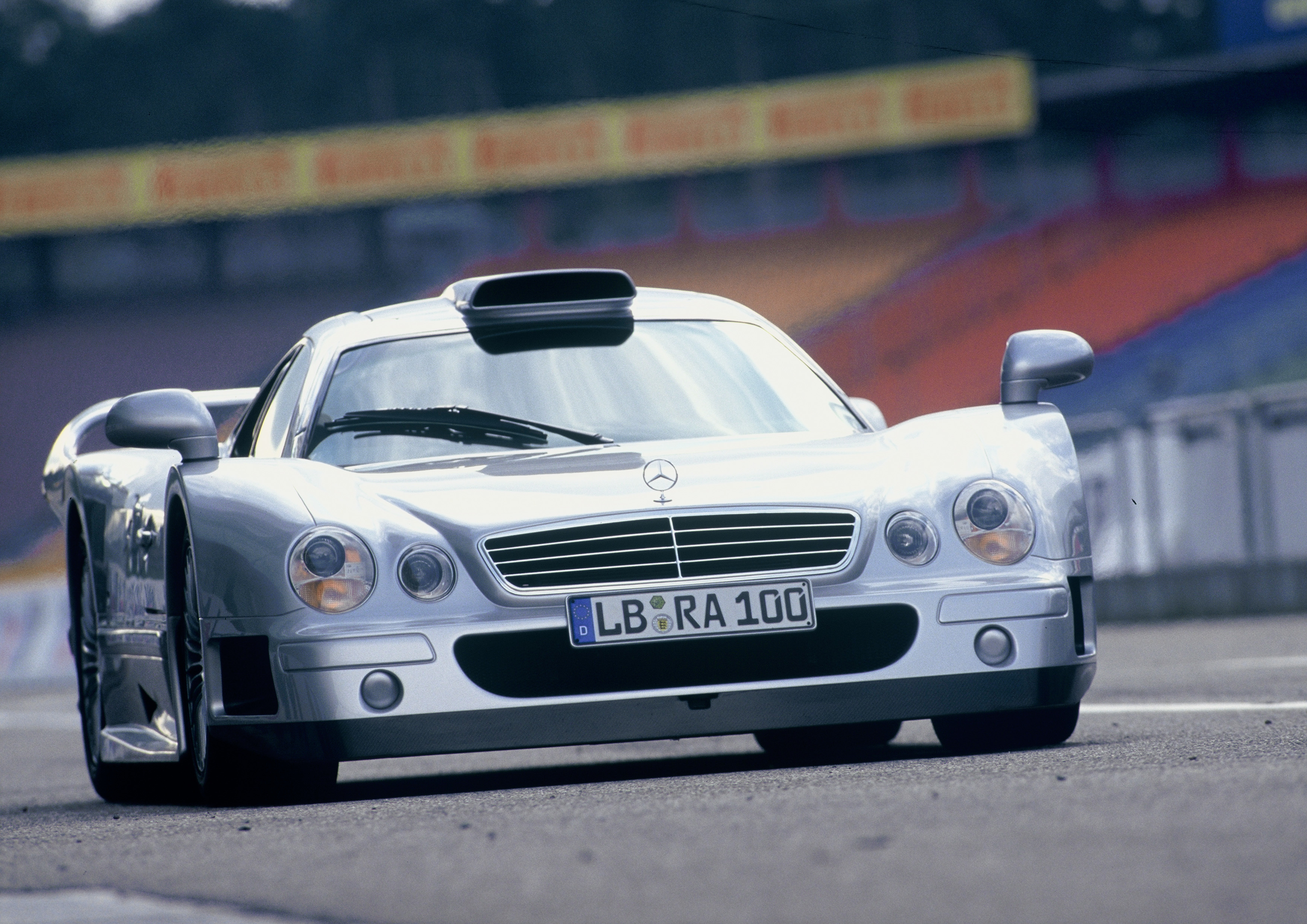 The CLK GTR was practically a race car for the road
