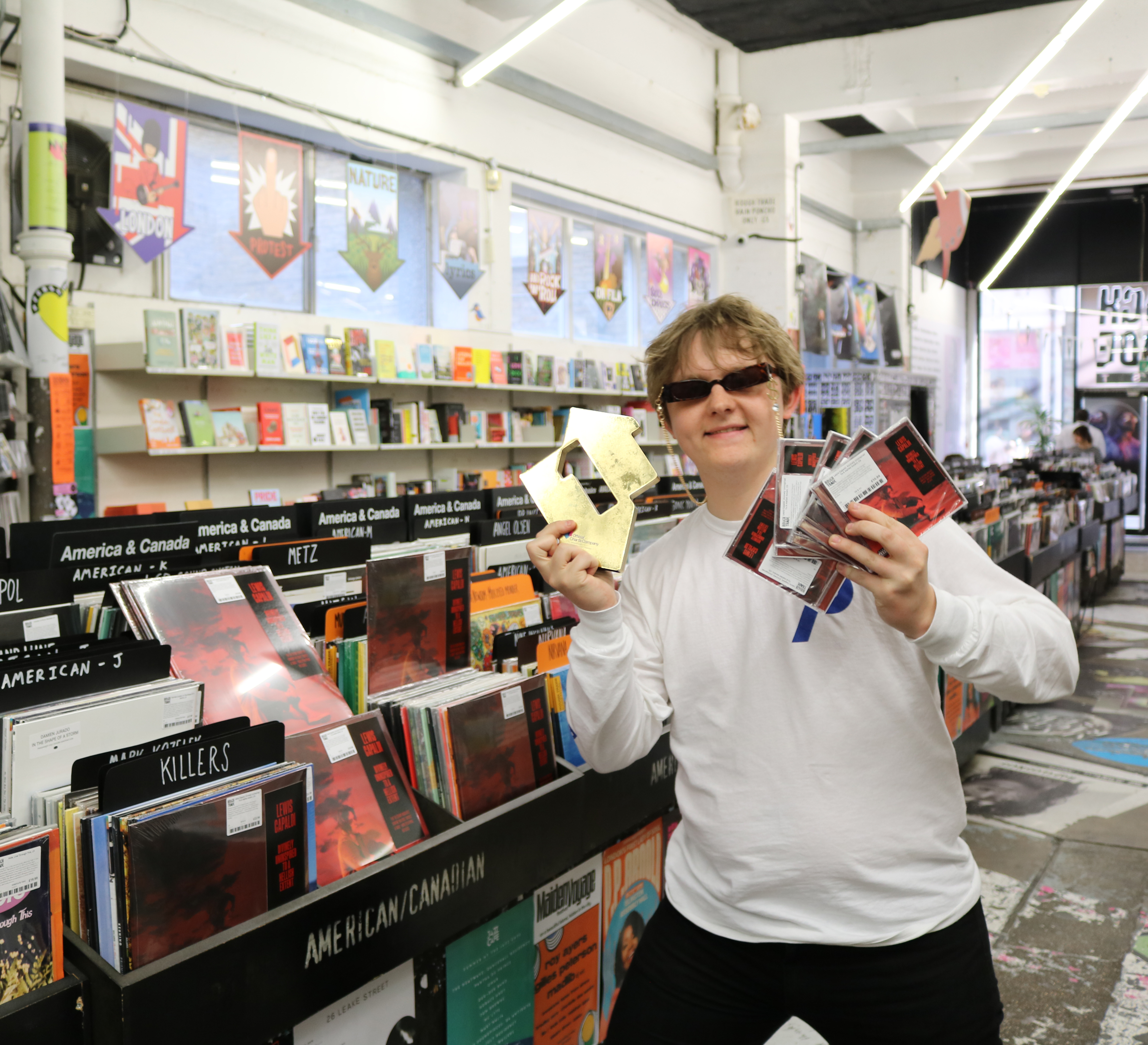 Lewis Capaldi Says He Might Finally Make Some Money As He