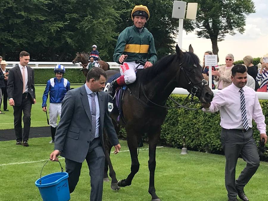 Private Secretary was a stylish winner at Goodwood for Frankie Dettori (Graham Clark)