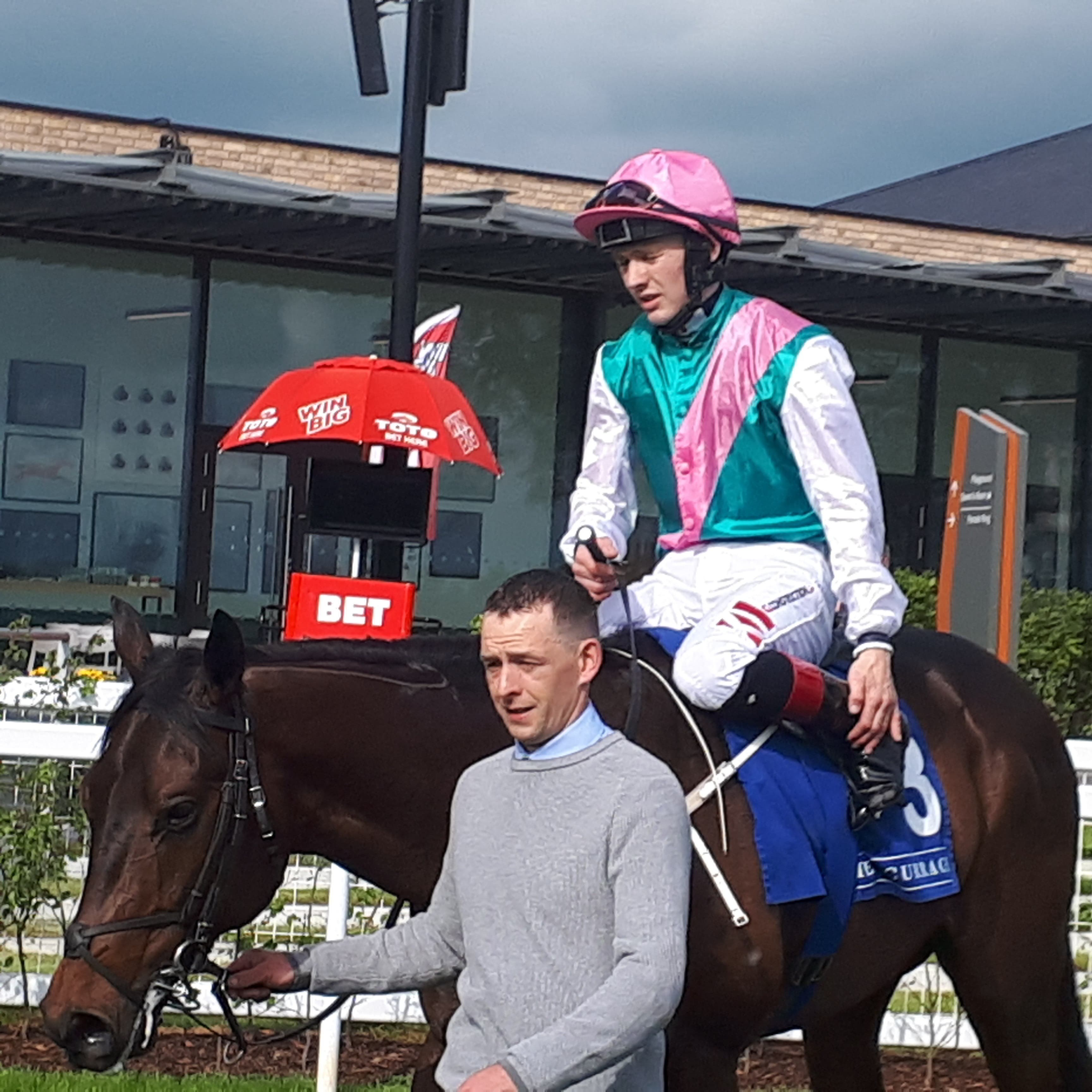 Siskin is on target for the Railway Stakes (Alan Magee)