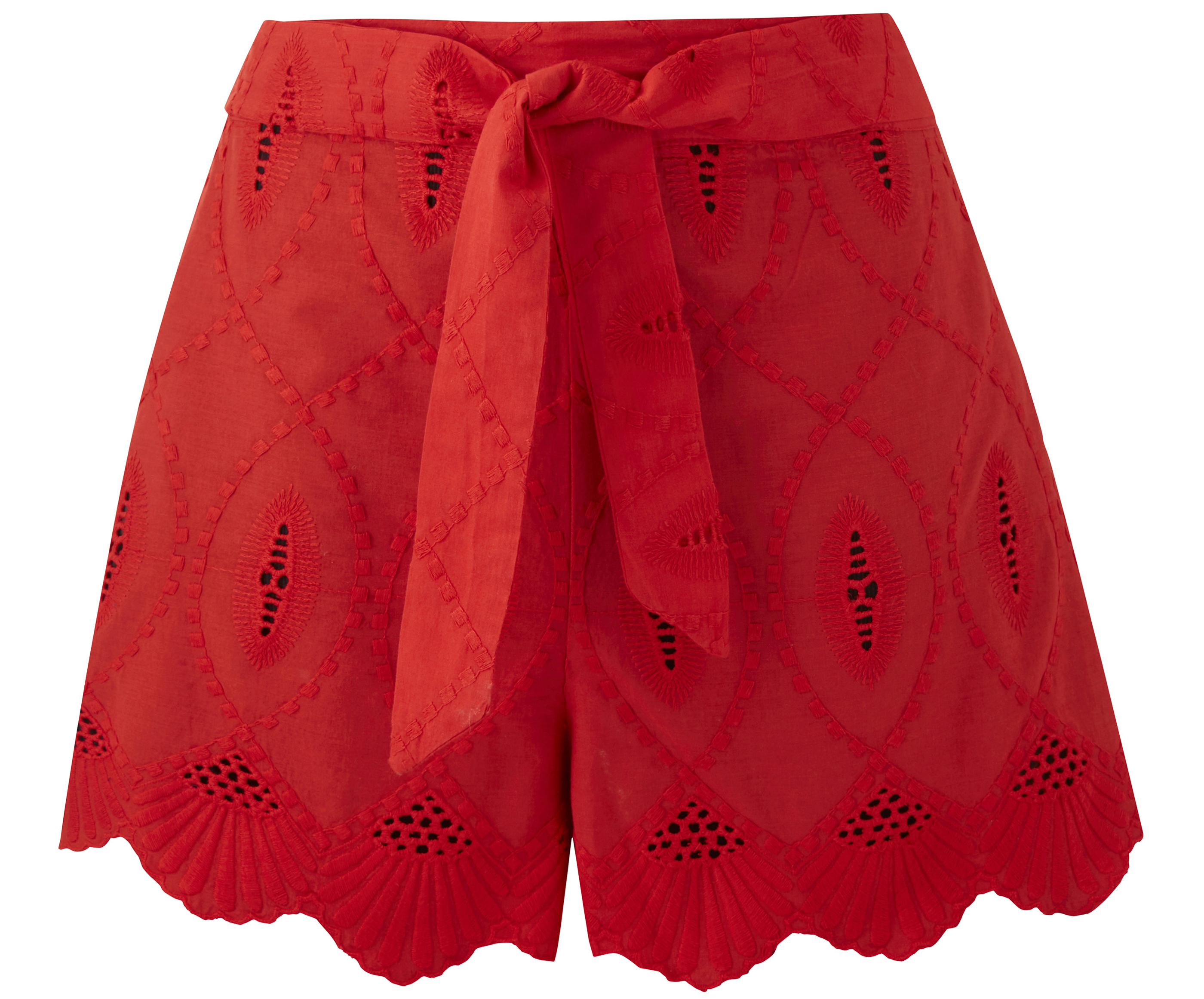 JD Williams Broderie Anglais Beach Shorts
