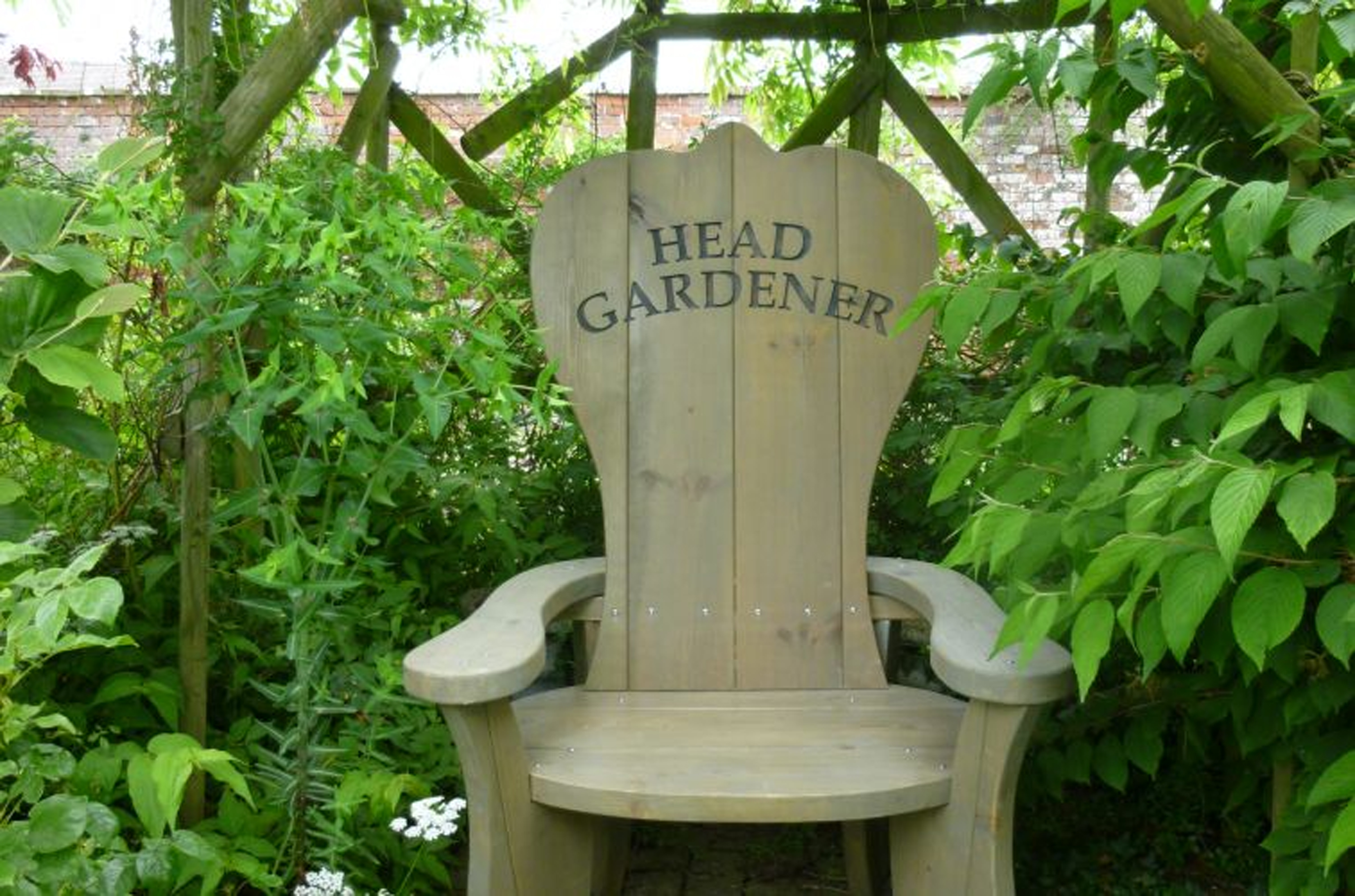 Personalise a garden chair for your dad (The Posh Shed Company/PA)