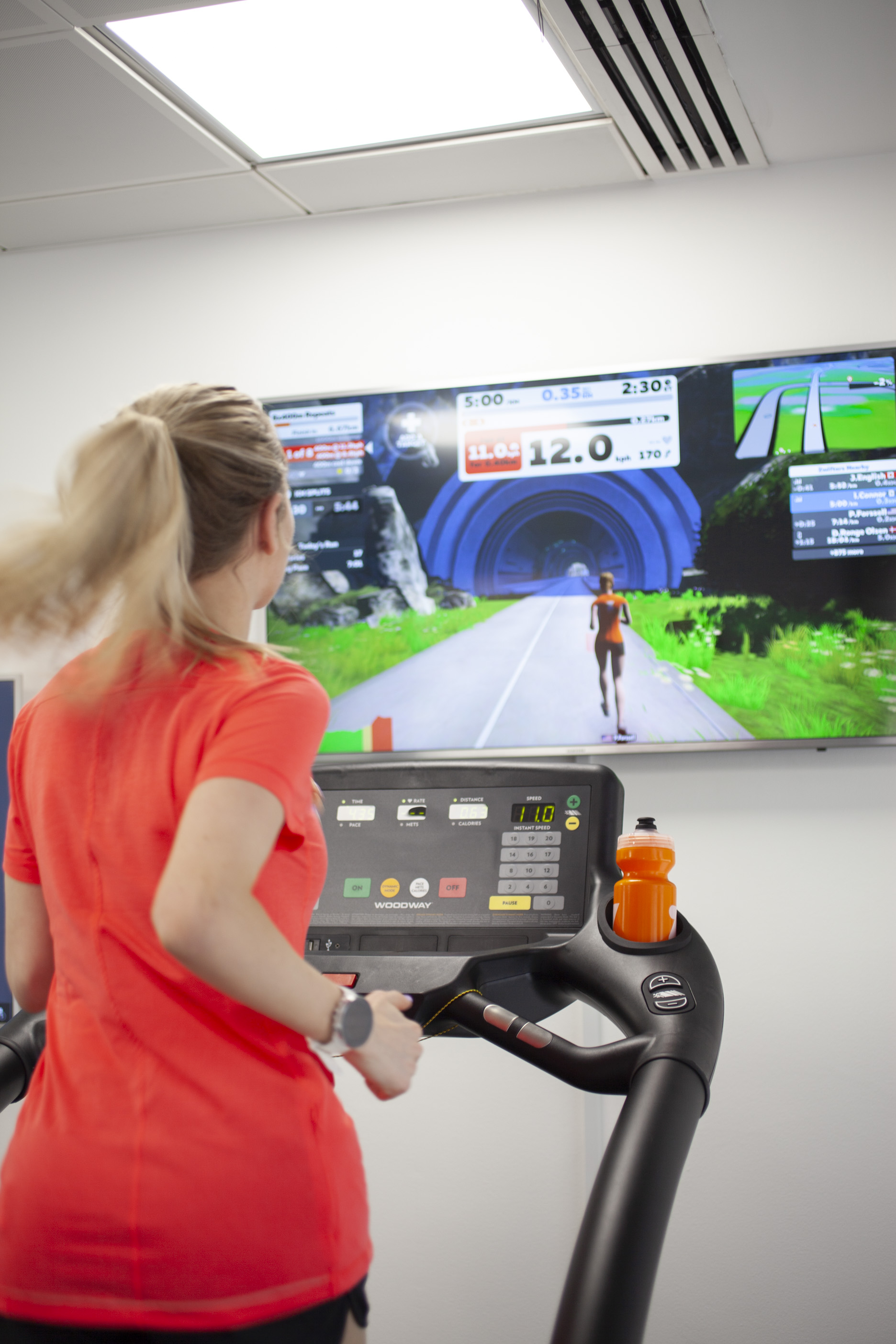 Using the Zwift app