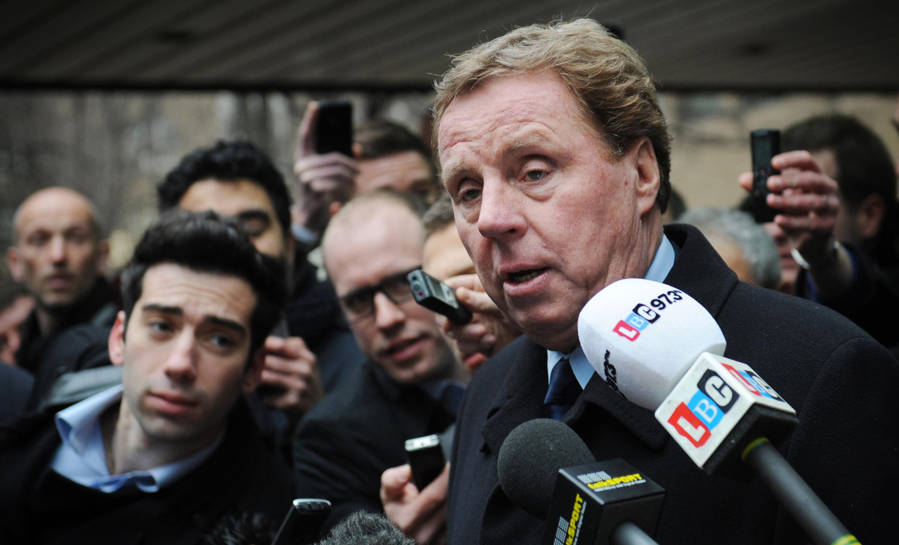 Harry Redknapp leaves Southwark Crown Court after being cleared of tax evasion in 2012 (Stefan Rousseau/PA)