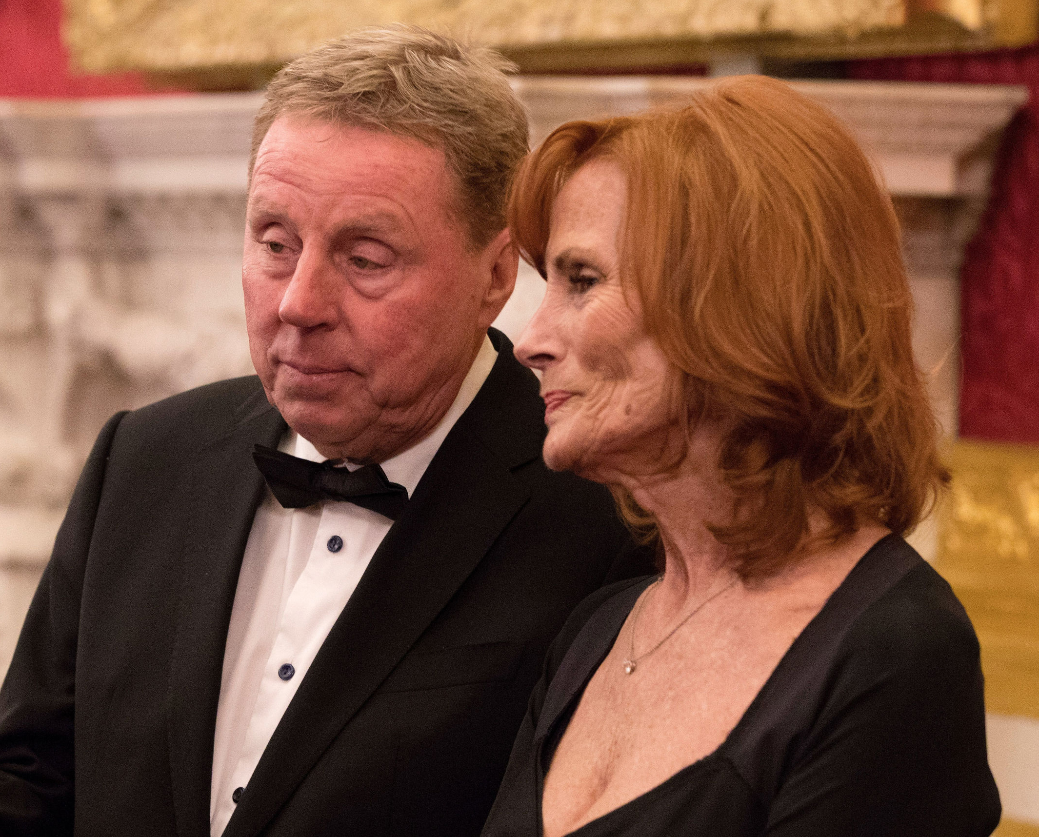 Harry and Sandra Redknapp (John Phillips/PA)
