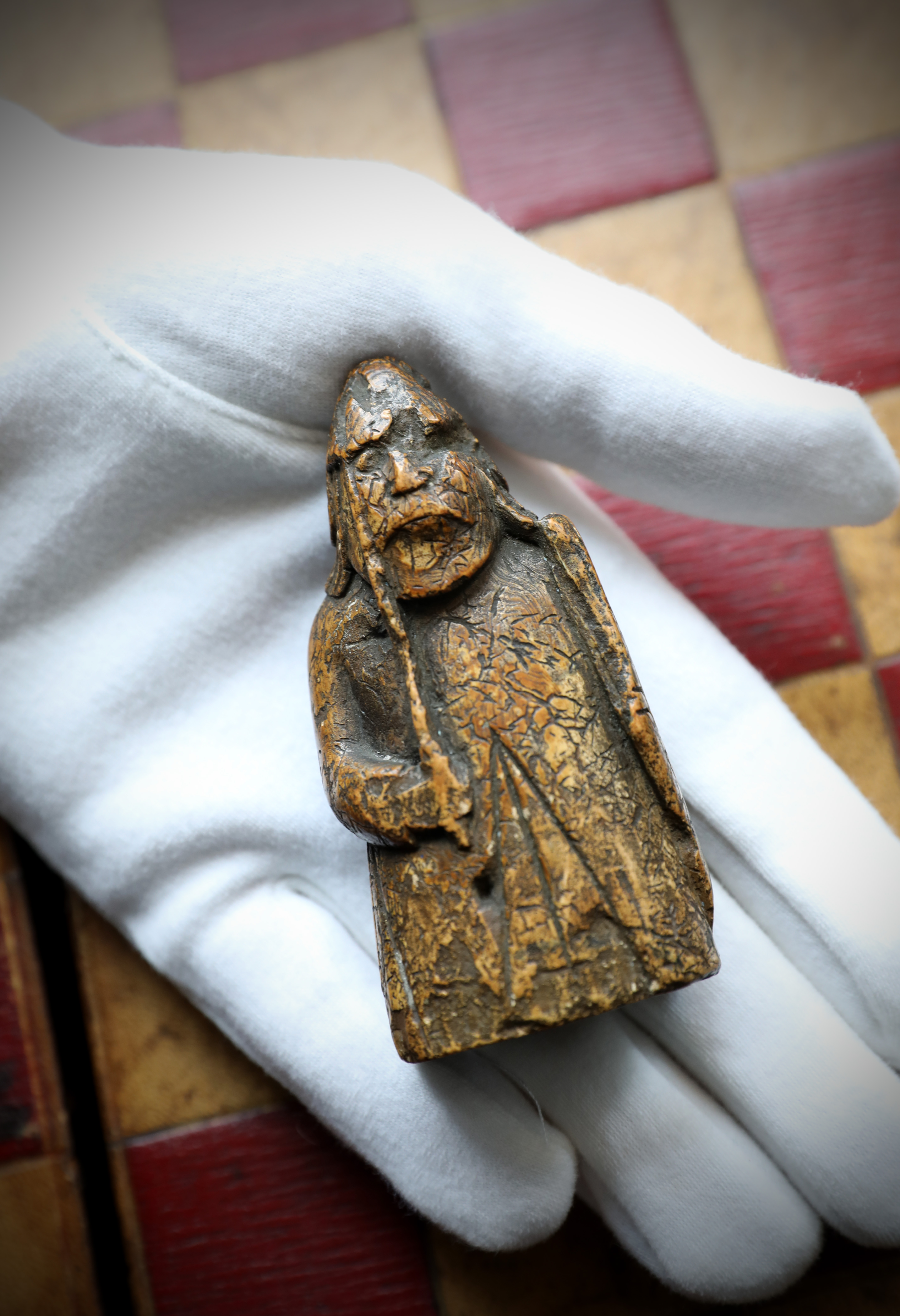 A newly discovered Lewis Chessman at Sotheby's