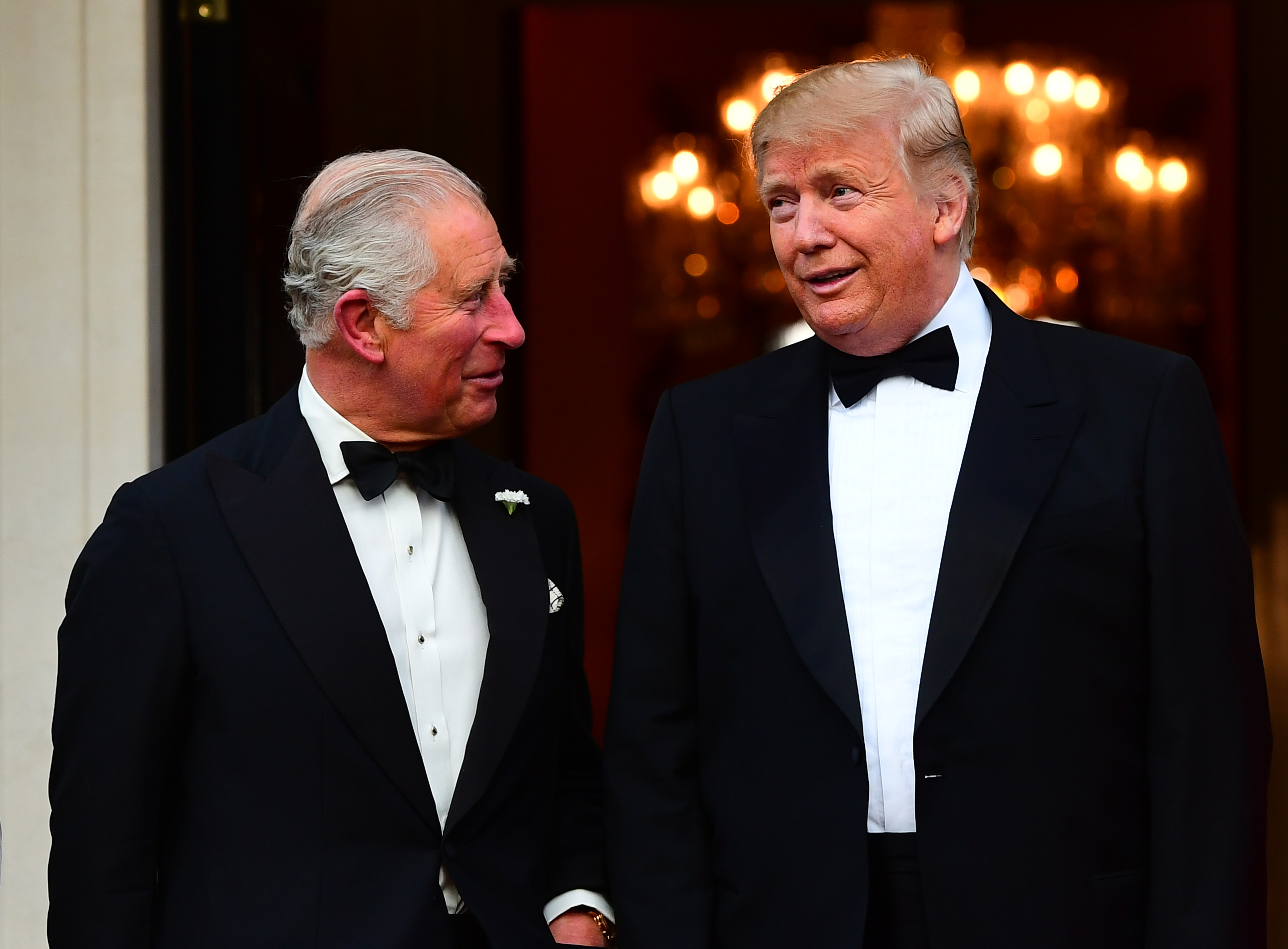 The Prince of Wales and Donald Trump