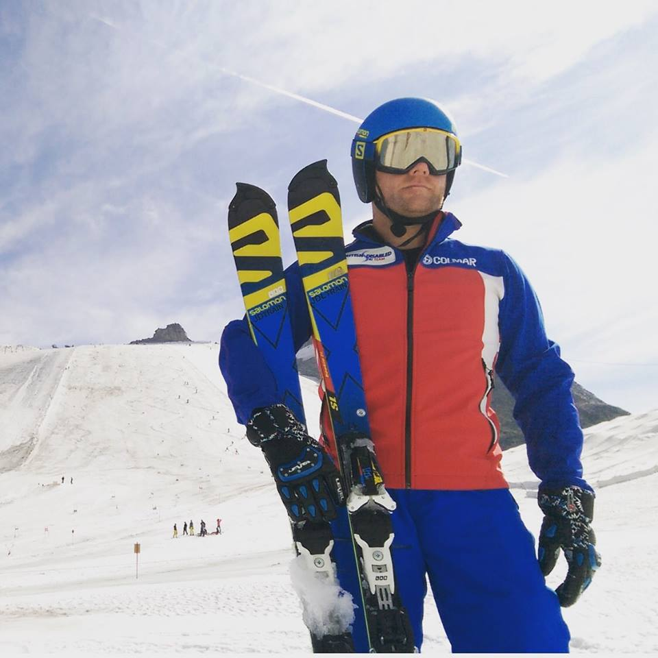 John Dickinson Lilley, British paralympic ski champion