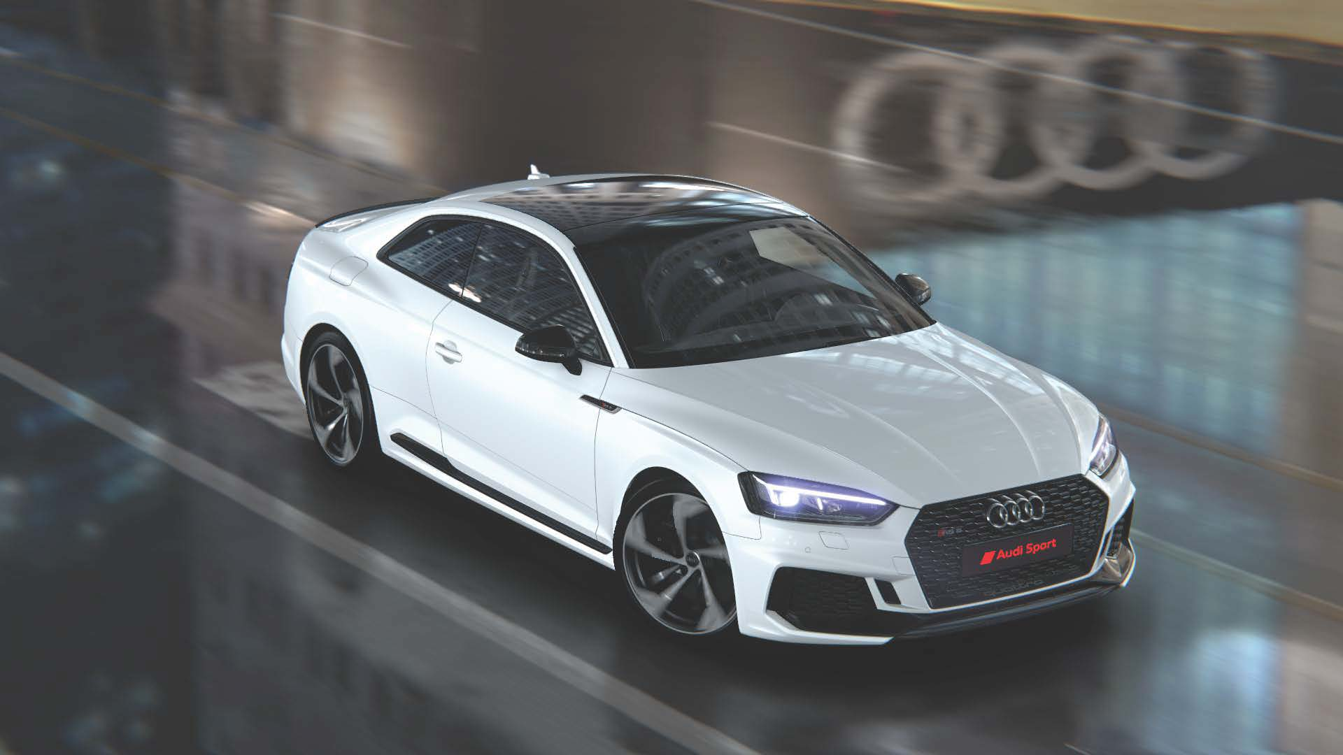 The RS5 Coupe returns to the line-up too