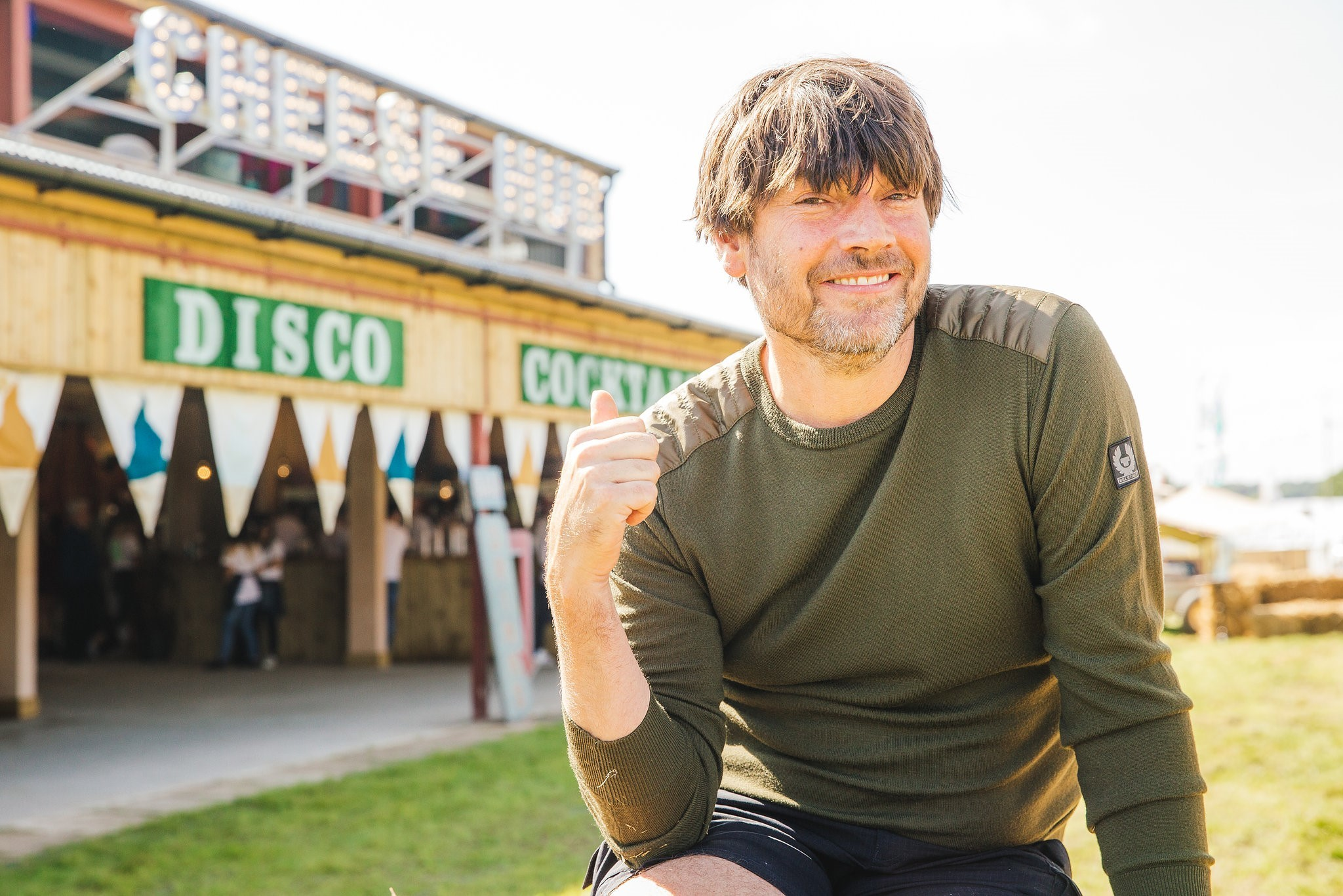 Alex James at The Big Feastival on his farm (The Big Feastival/PA)