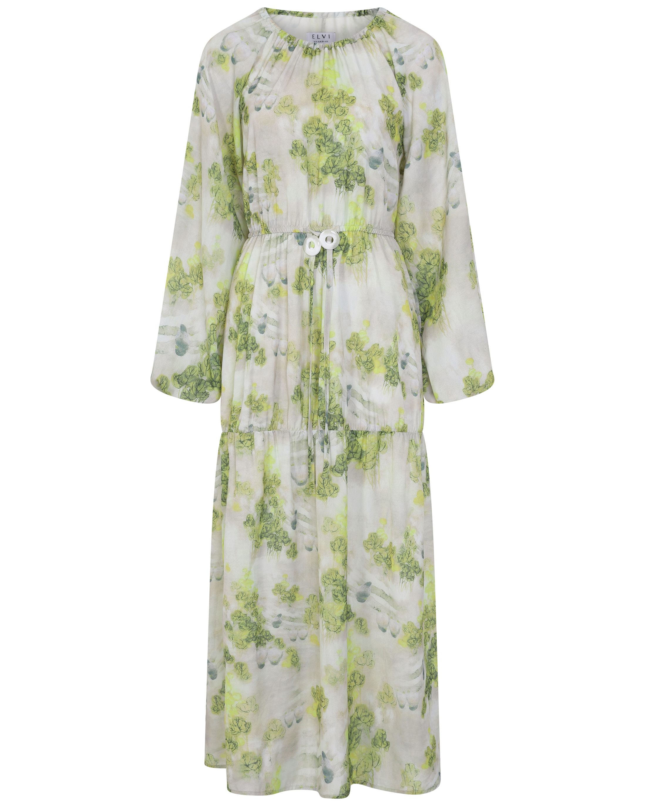 Elvi Mia Printed Smock Dress