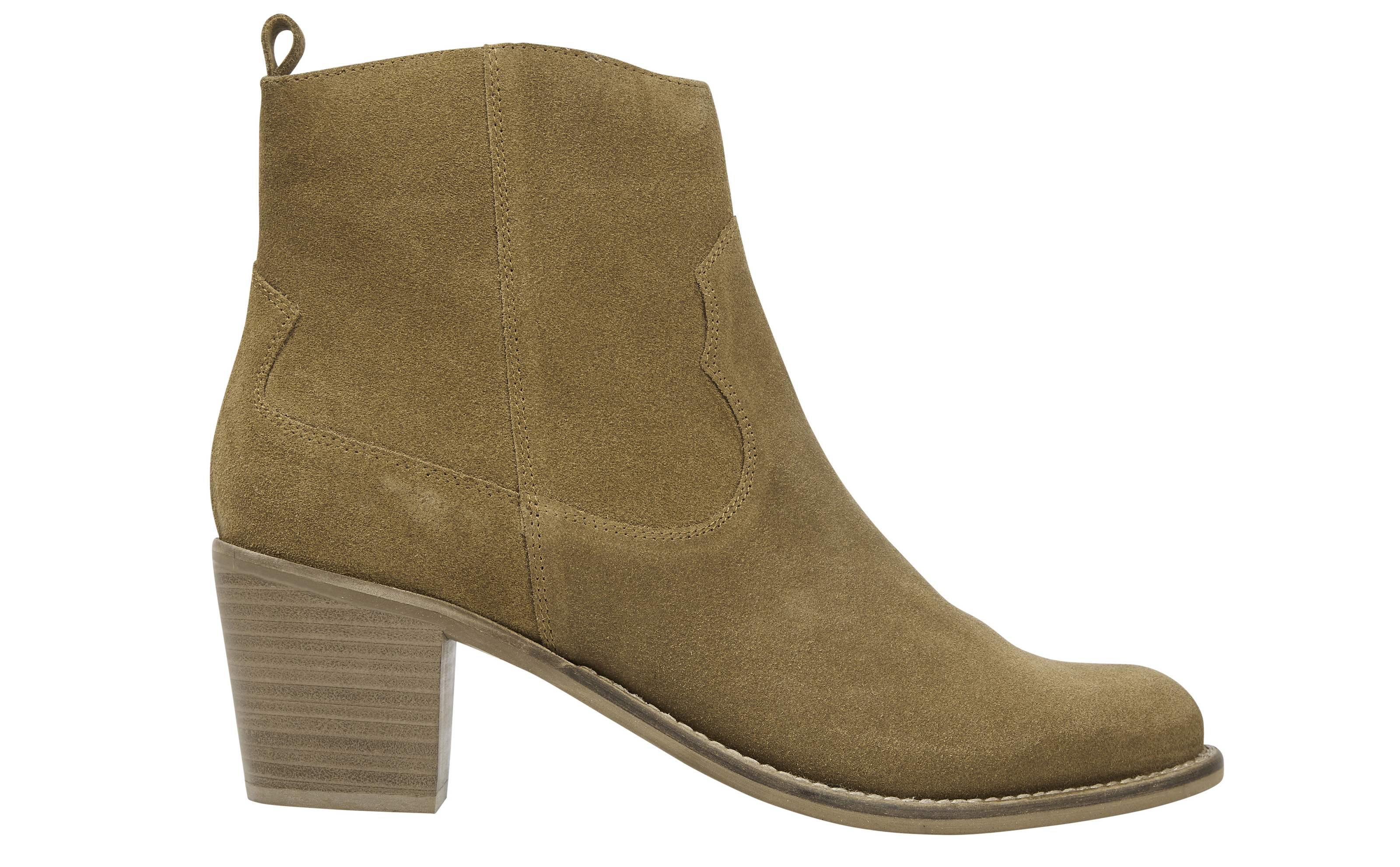 Marks and Spencer Collection Suede Western Ankle Boots