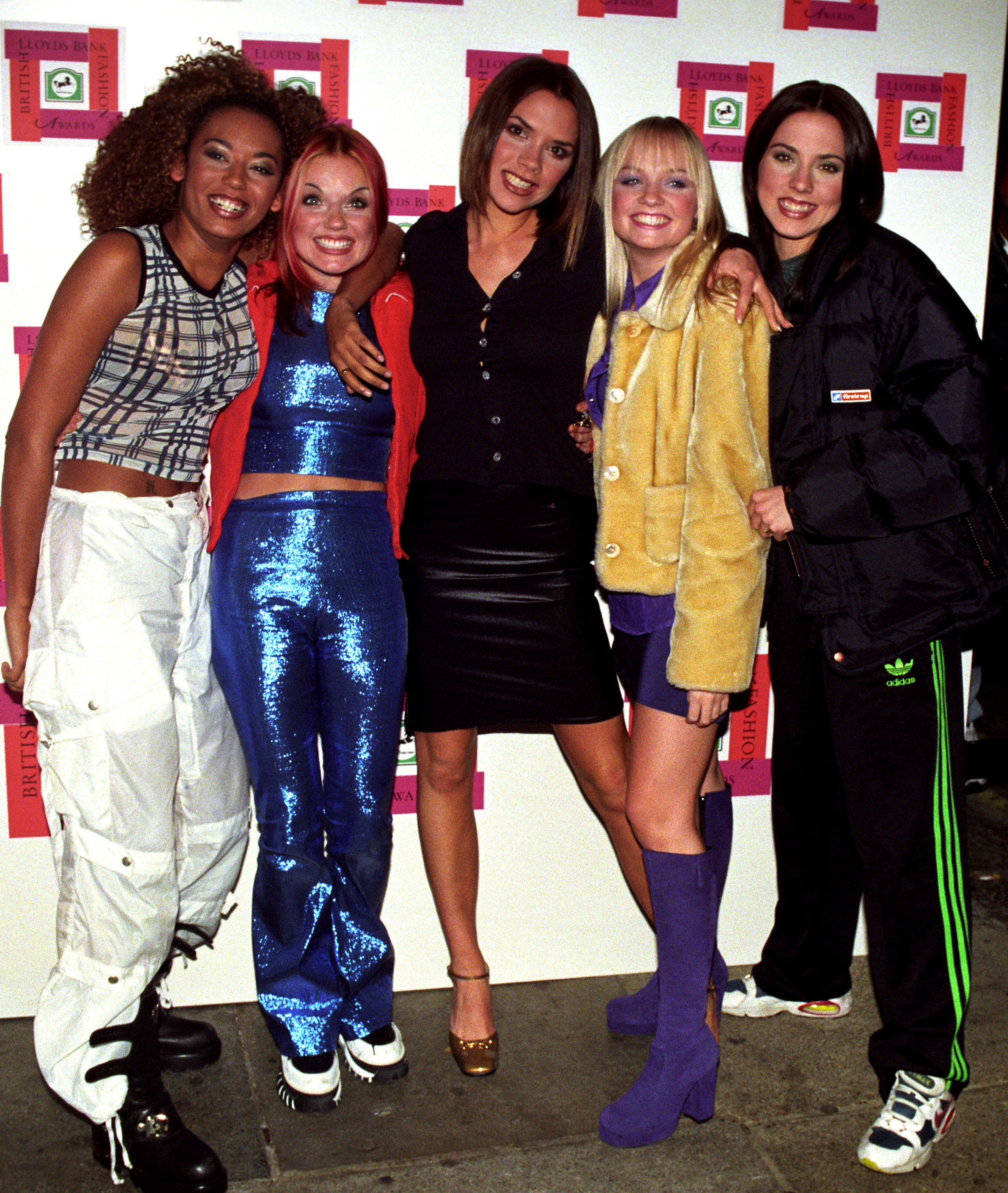 The Spice Girls in 1996