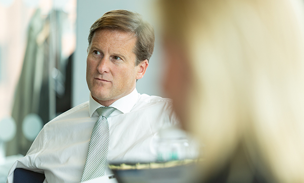 Chris Hill, CEO of Hargreaves Lansdown