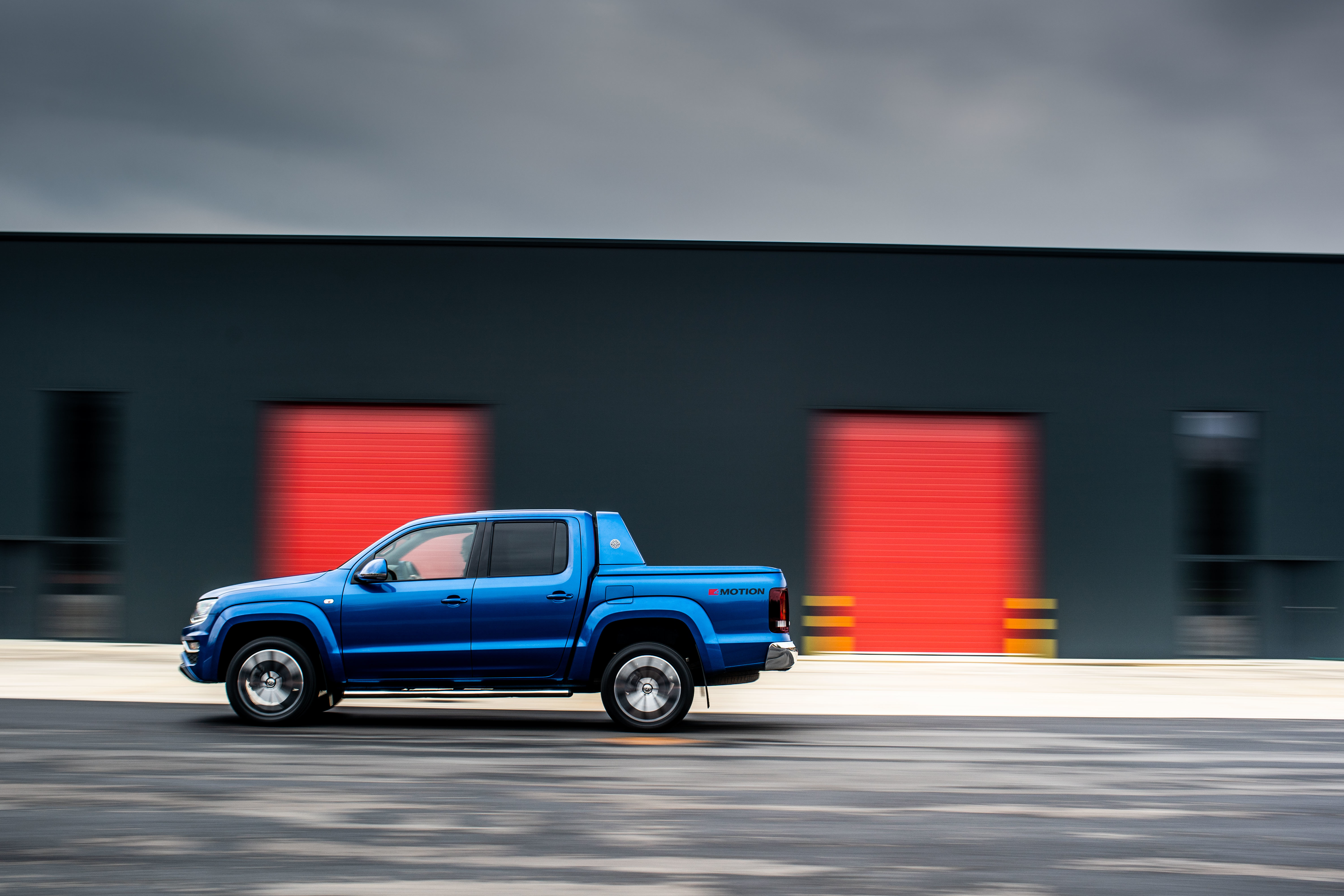 The Amarok is surprisingly car-like out on the road