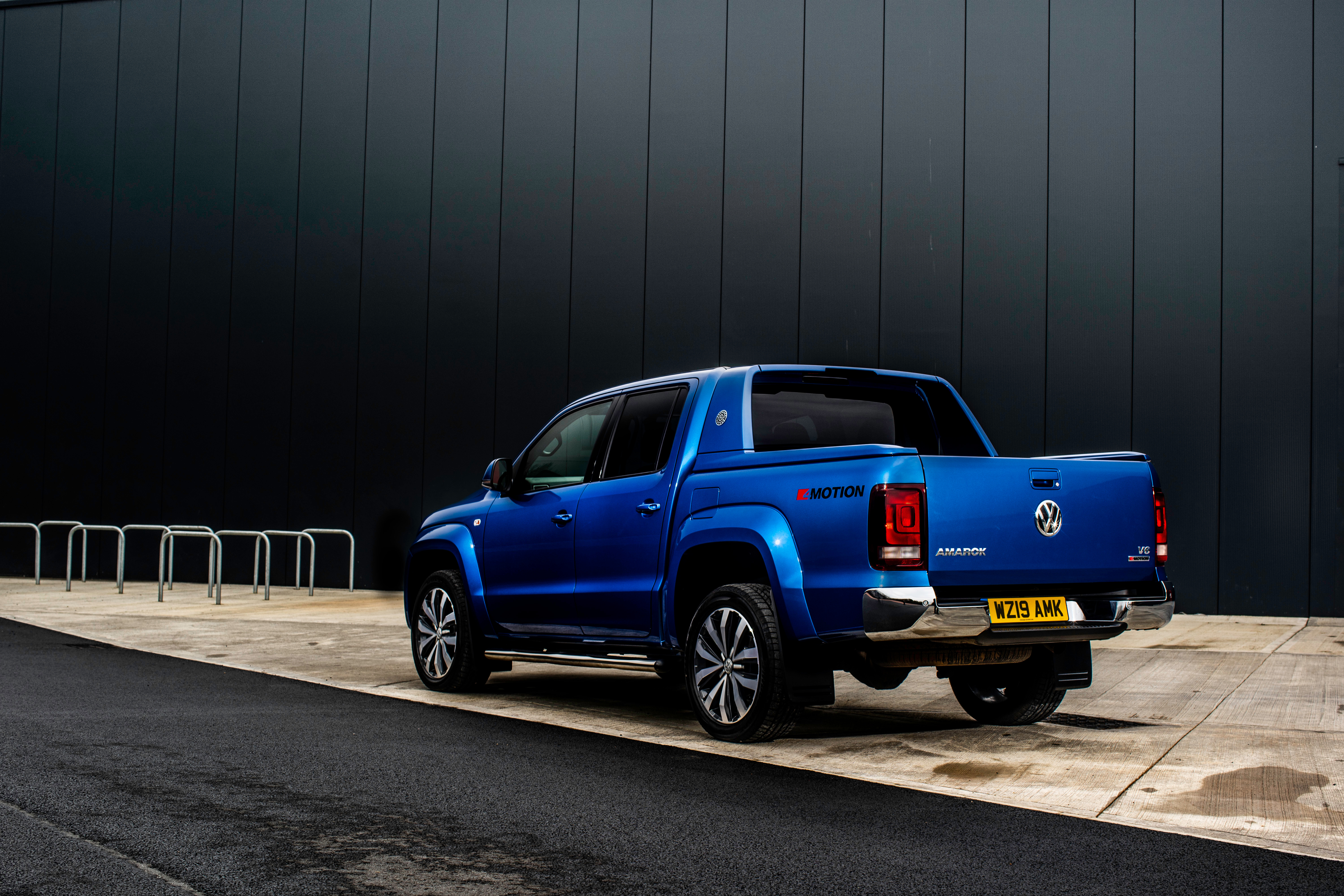 The Amarok behaves remarkably well on the road