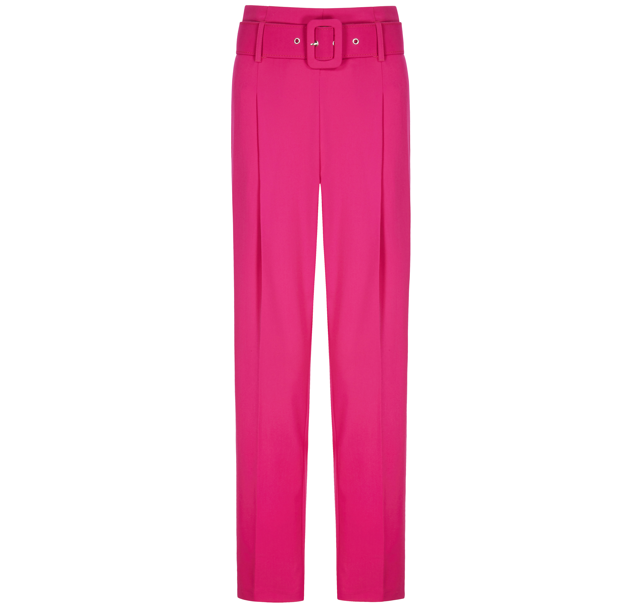 Very Pleat Front Belted Trousers