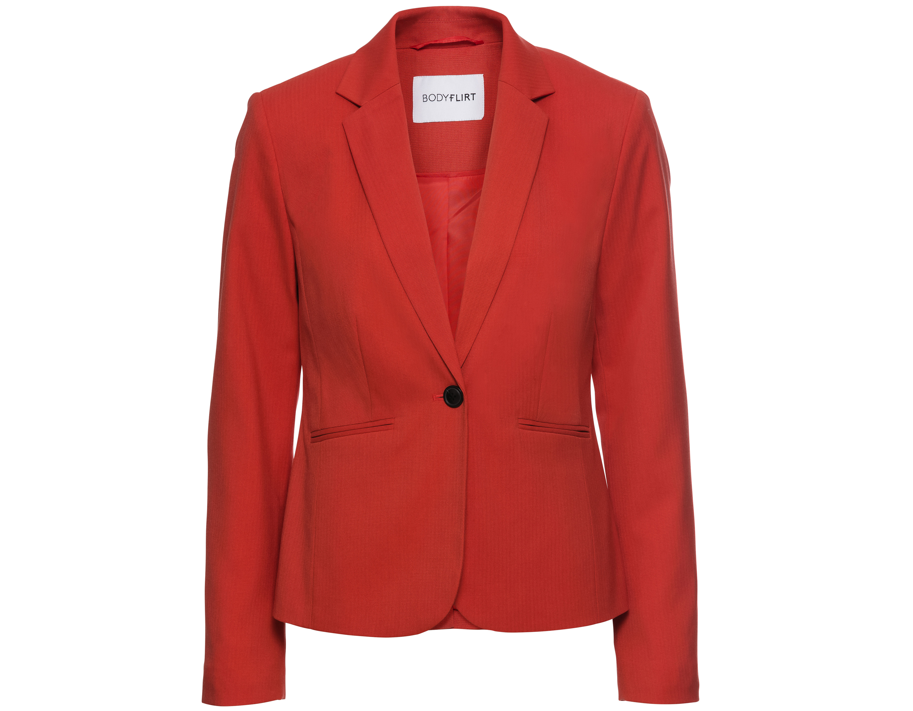 Bonprix Red One-Button Blazer
