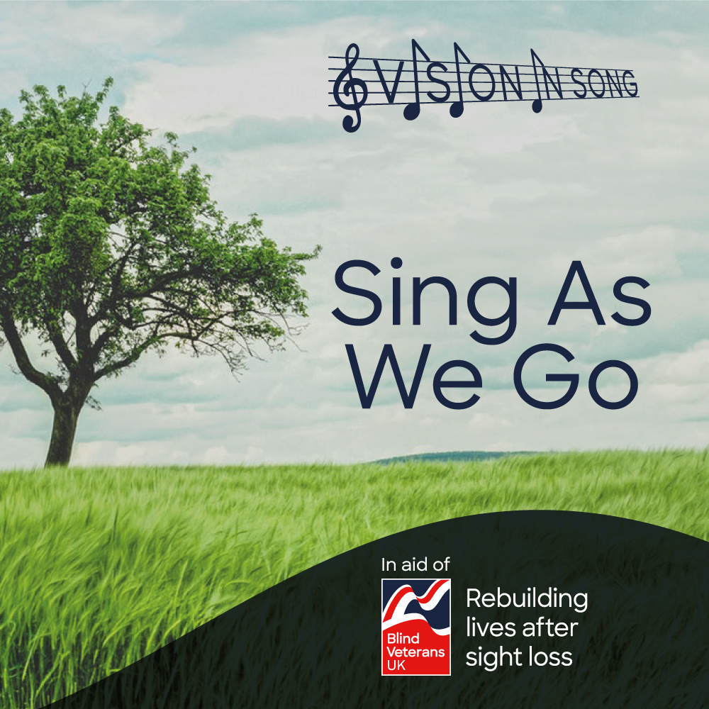 A choir of blind veterans called Vision In Song, who range in age from 76 to 96 and live in Essex, have released their first record. (Blind Veterans UK/ PA)