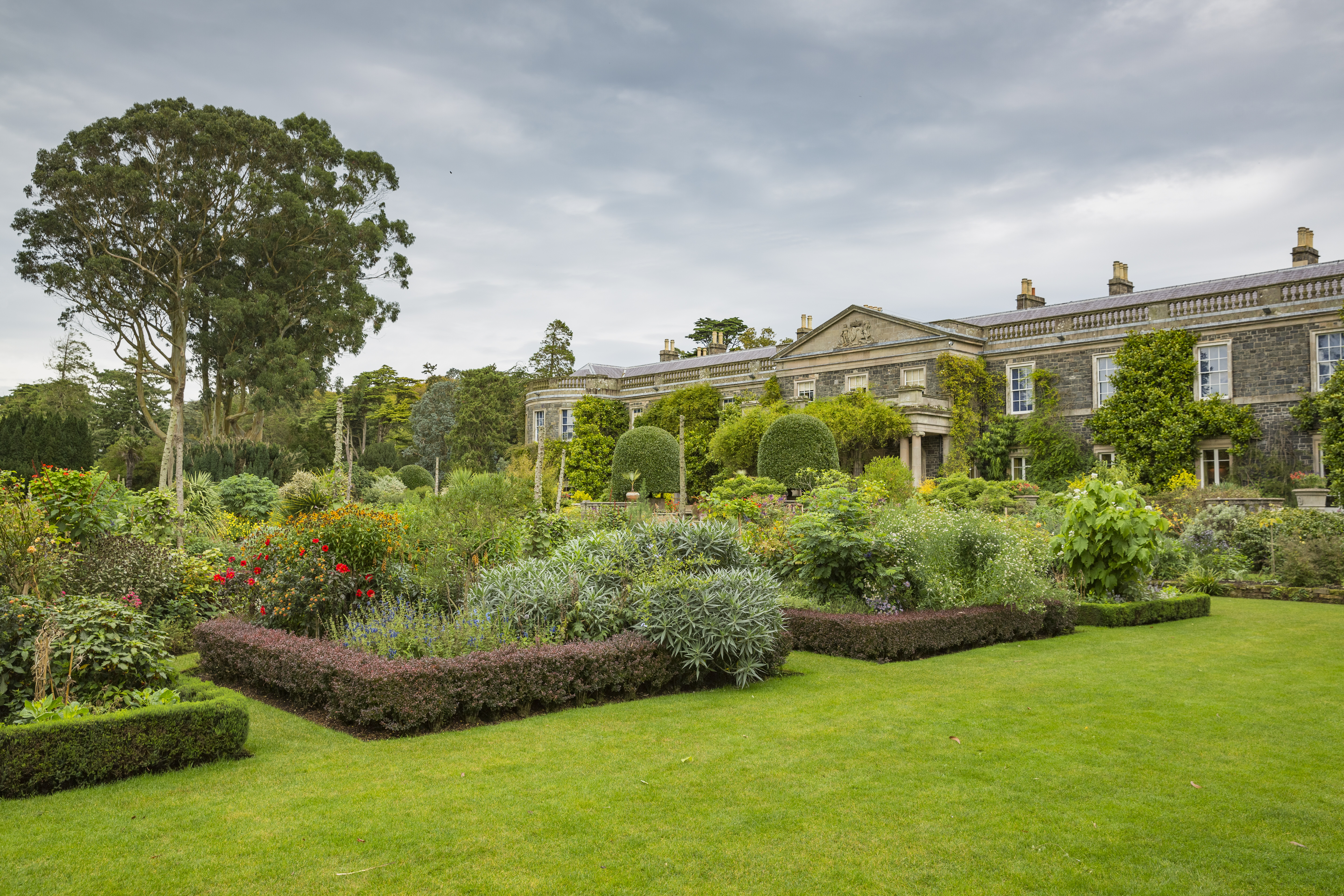 The Formal Garden at Mount Stewart, County Down is one of the hundreds of properties the National Trust cares for (National Trust Images/James Dobson/PA)