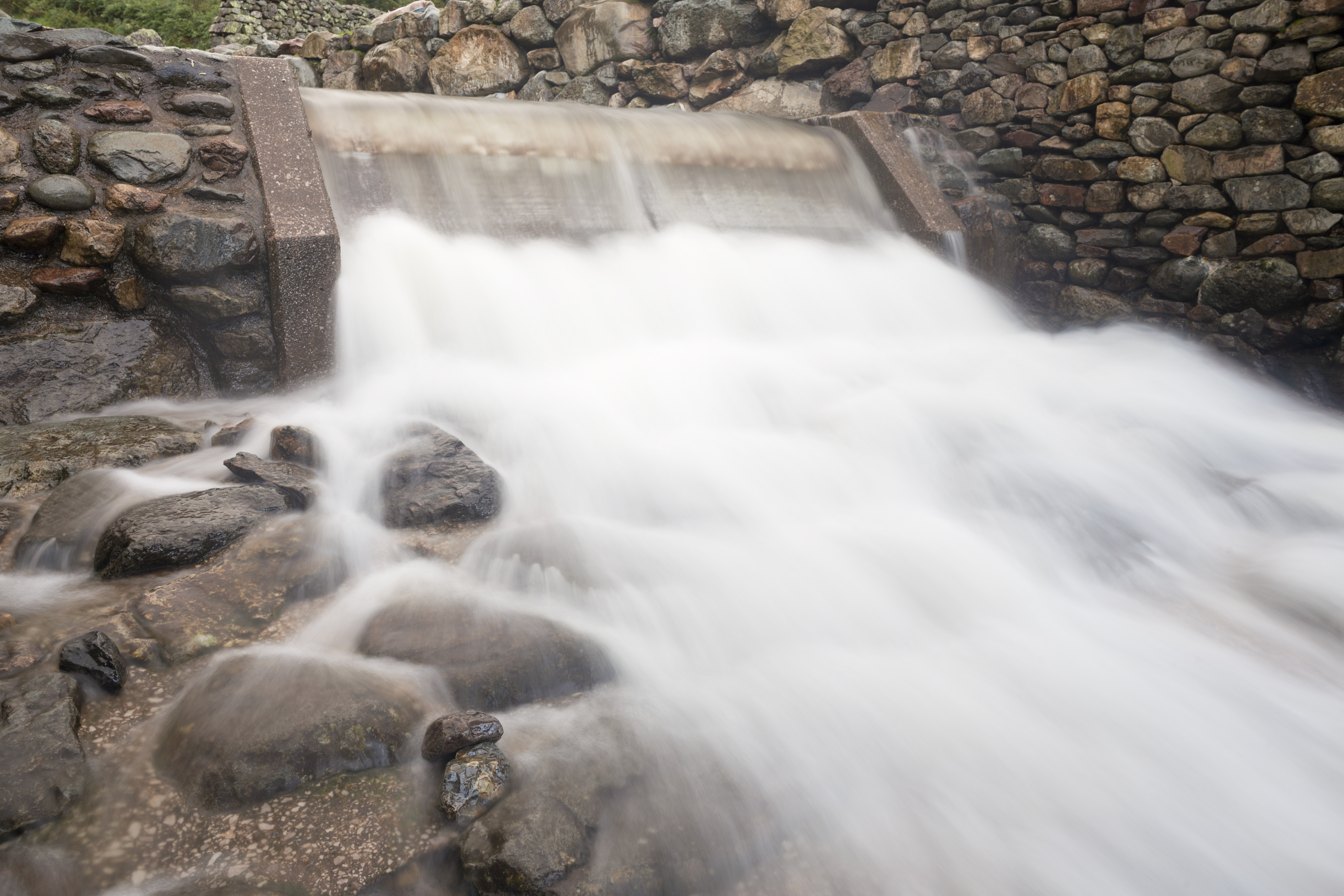 Stickle Ghyll hydro-electric turbine at Sticklebarn and the Langdales, Cumbria, is one of the Trust's green power schemes (National Trust Images/Michael Hirst/PA)
