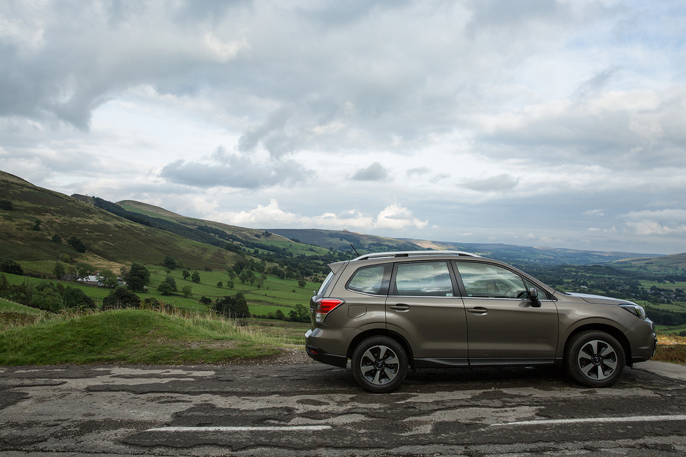 The Outback is well suited to a rural environment
