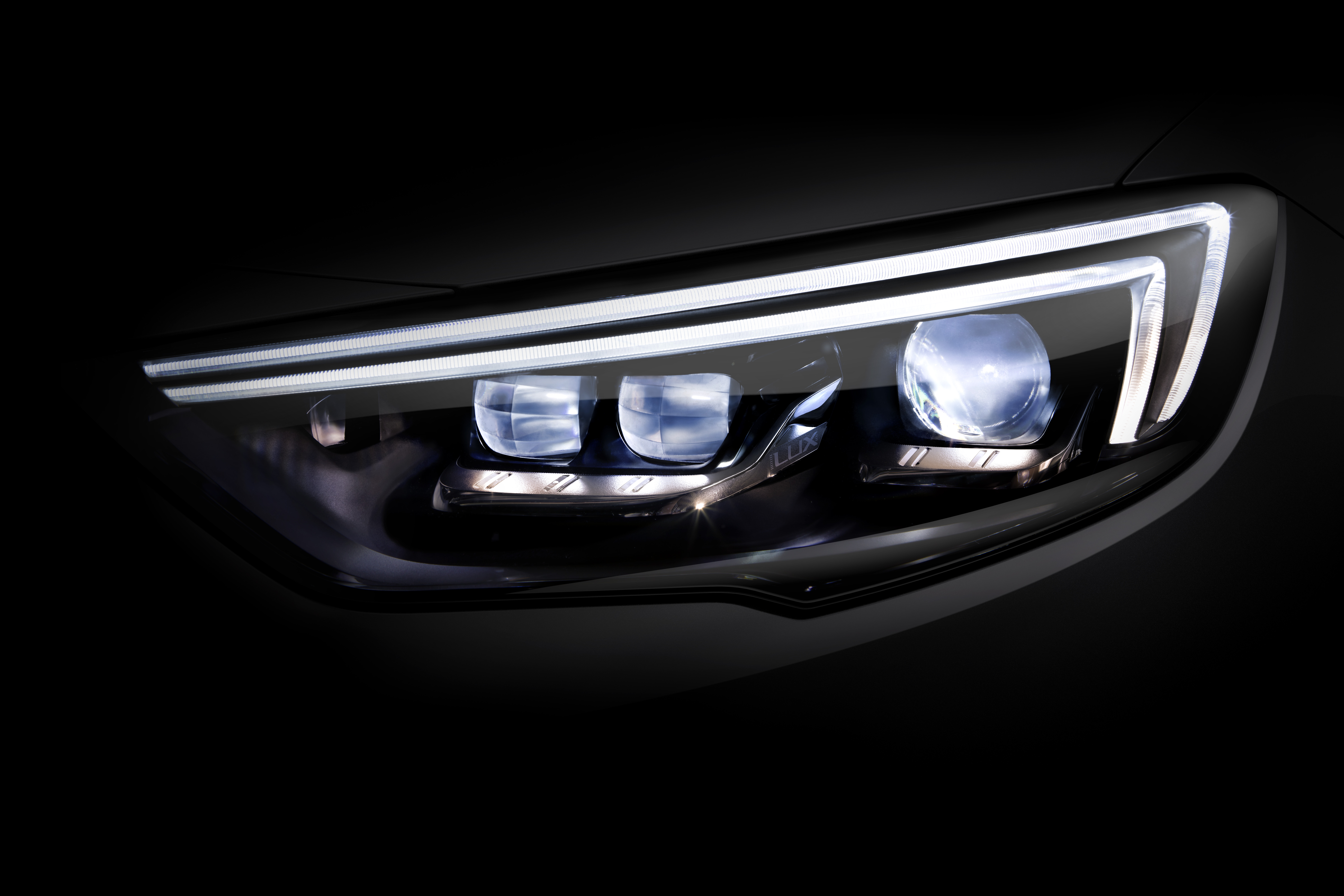 LED daytime running lights give a distinctive look