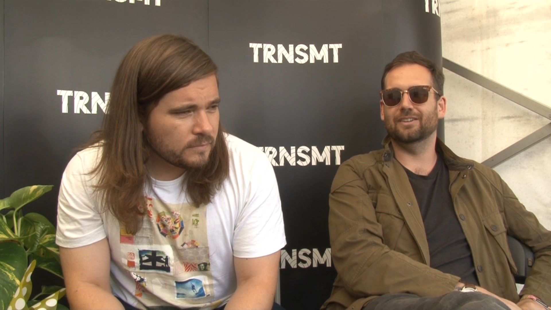 Bastille drummer Chris Wood and guitarist Will Farquarson (Douglas Barrie/PA)