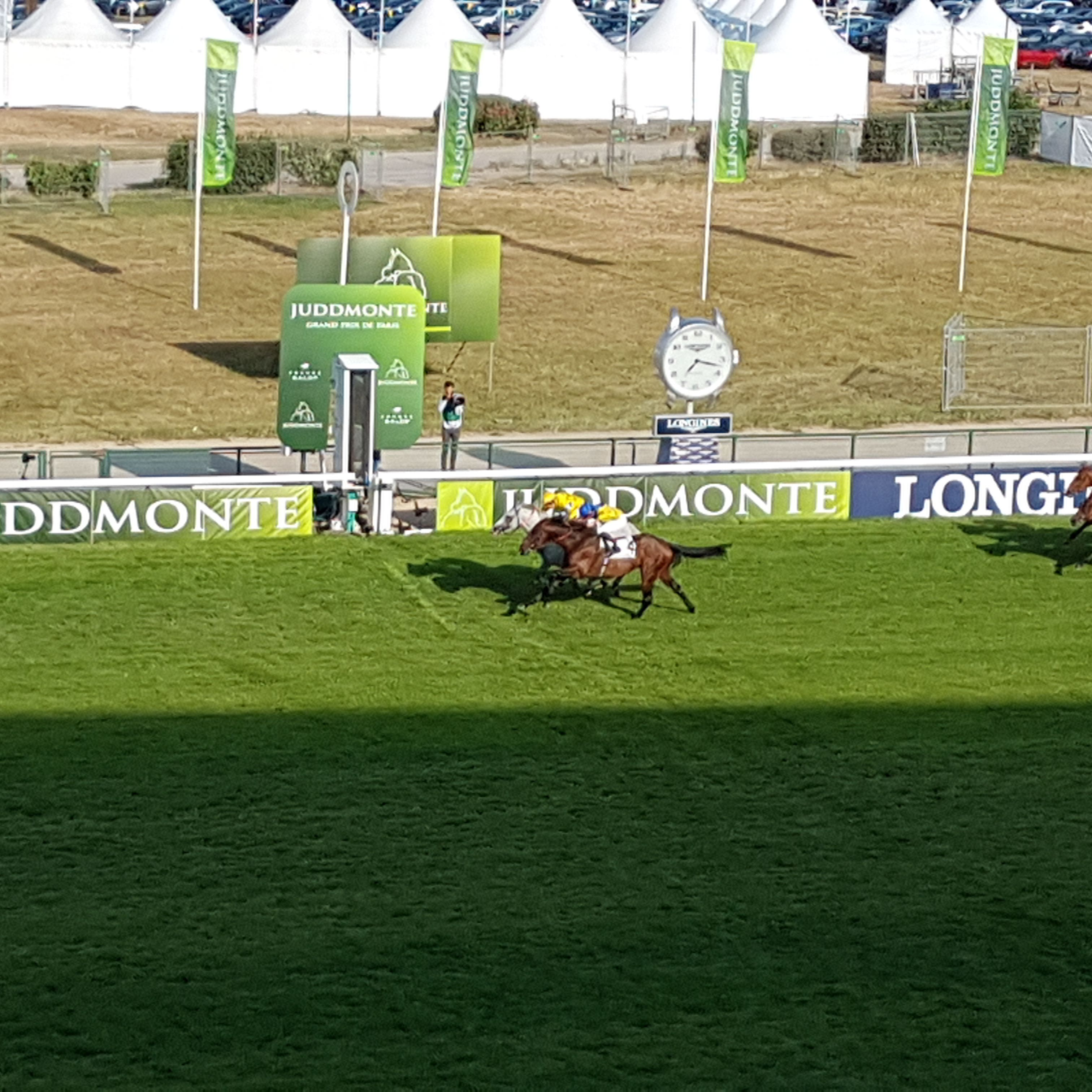 Marmelo (near side) narrowly loses out to Way To Paris