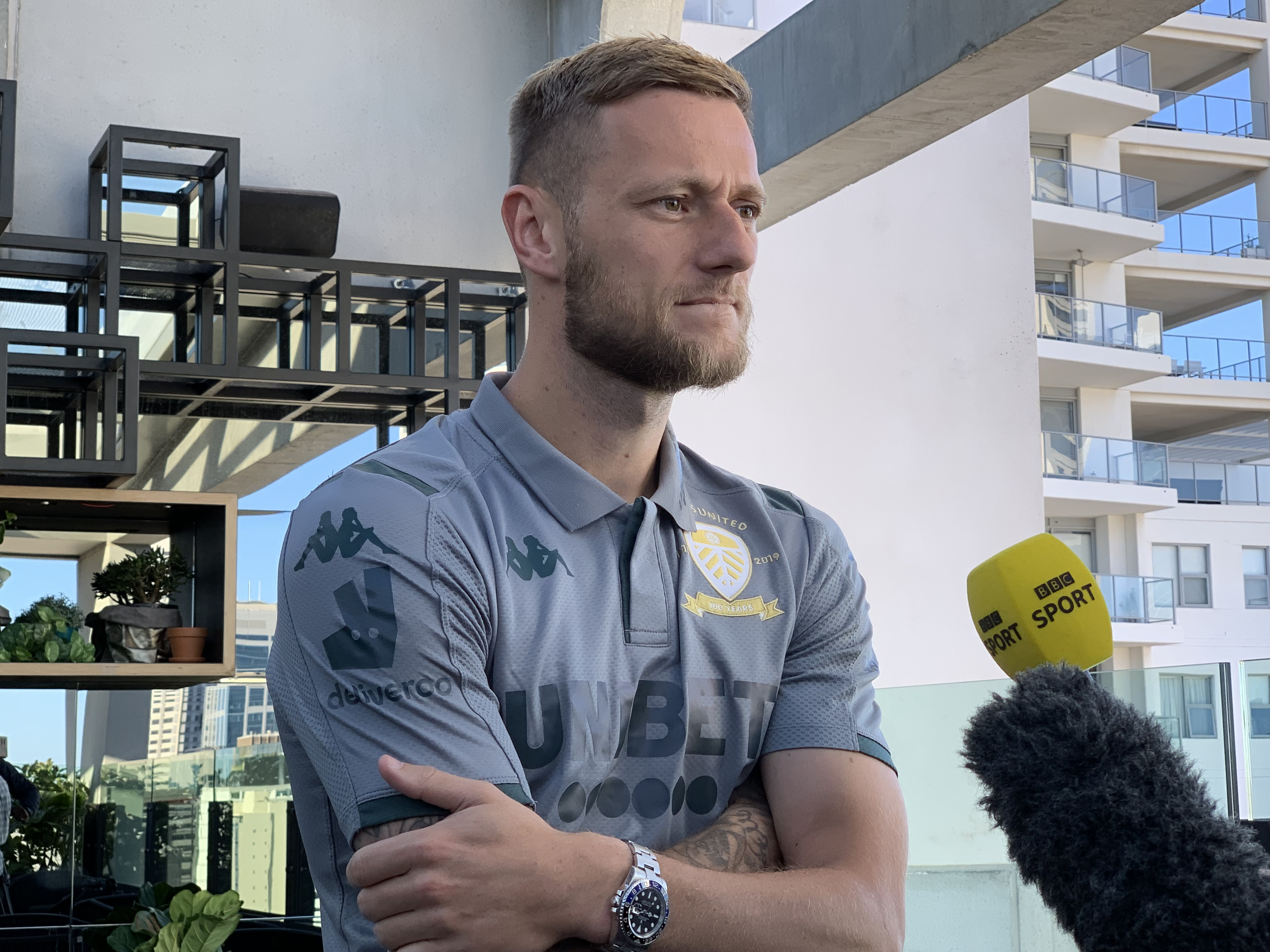 Leeds captain Liam Cooper previews the Manchester United friendly