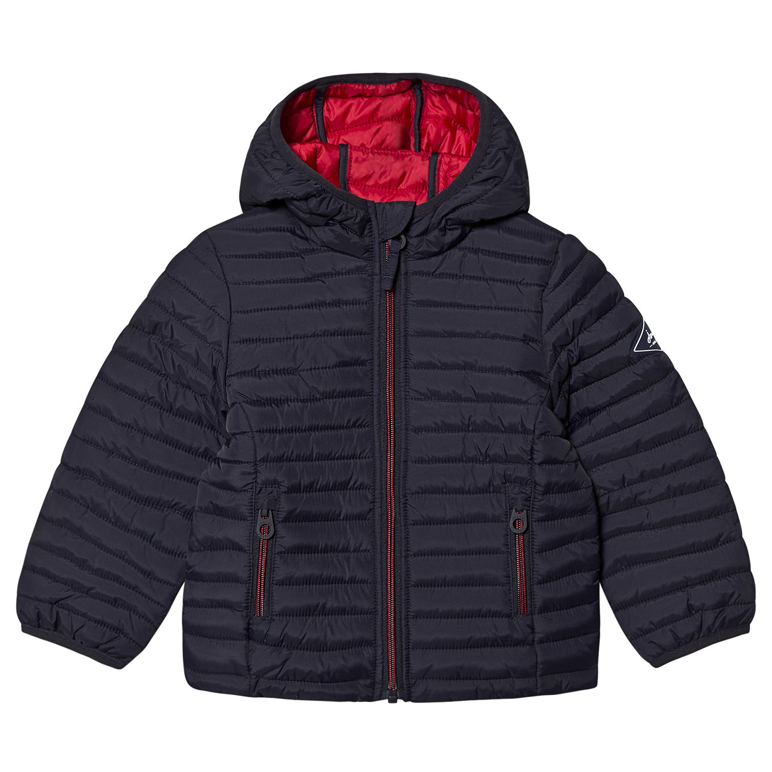 Joules Navy Packaway Cairn Padded Jacket, from £37, Alex and Alexa