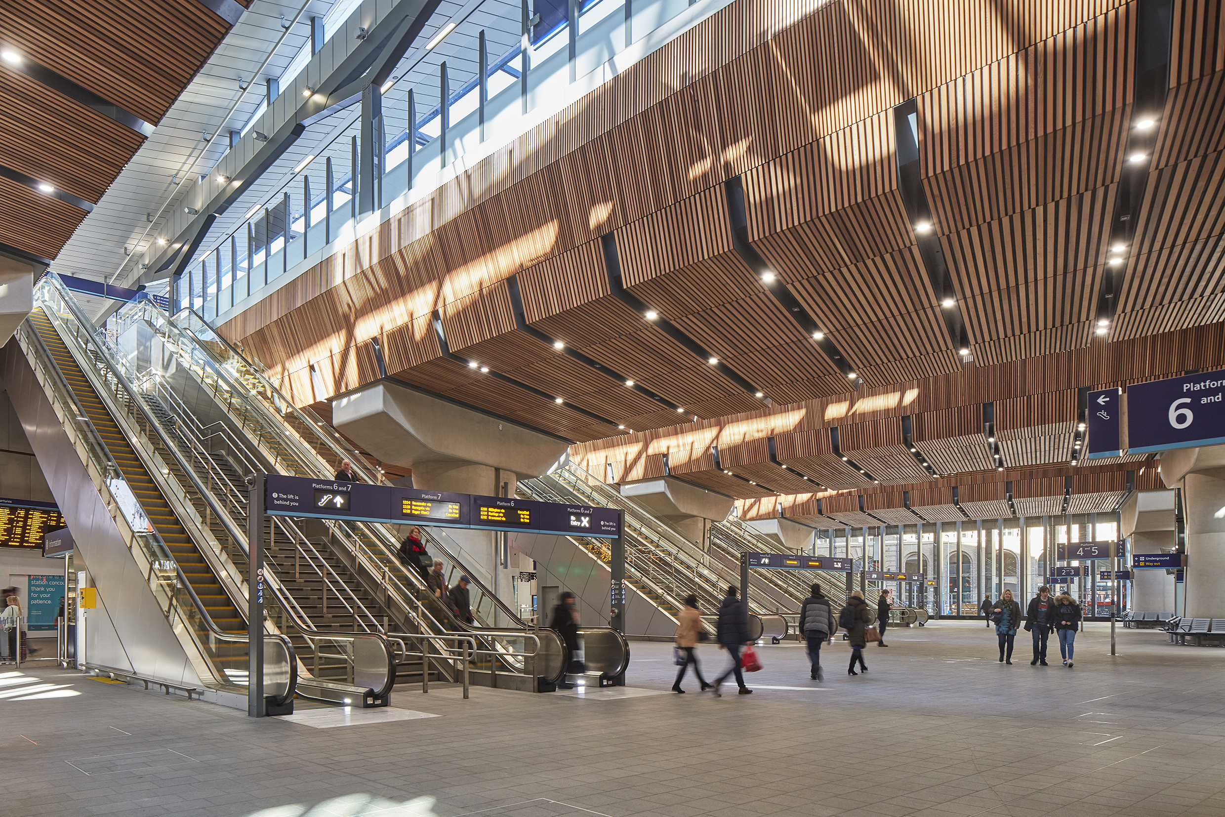 Renovated London Bridge Station, Grimshaw Architects