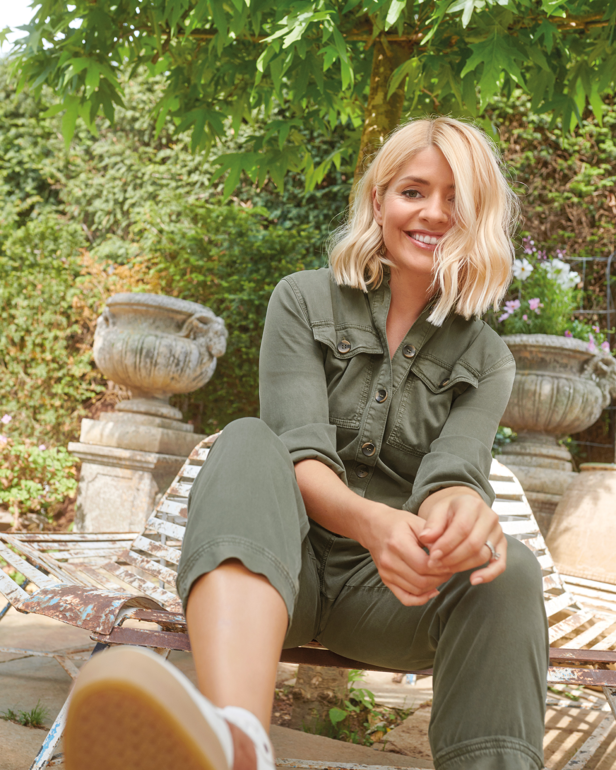 Holly Willoughby wearing the Holly Loves summer edit from M&S