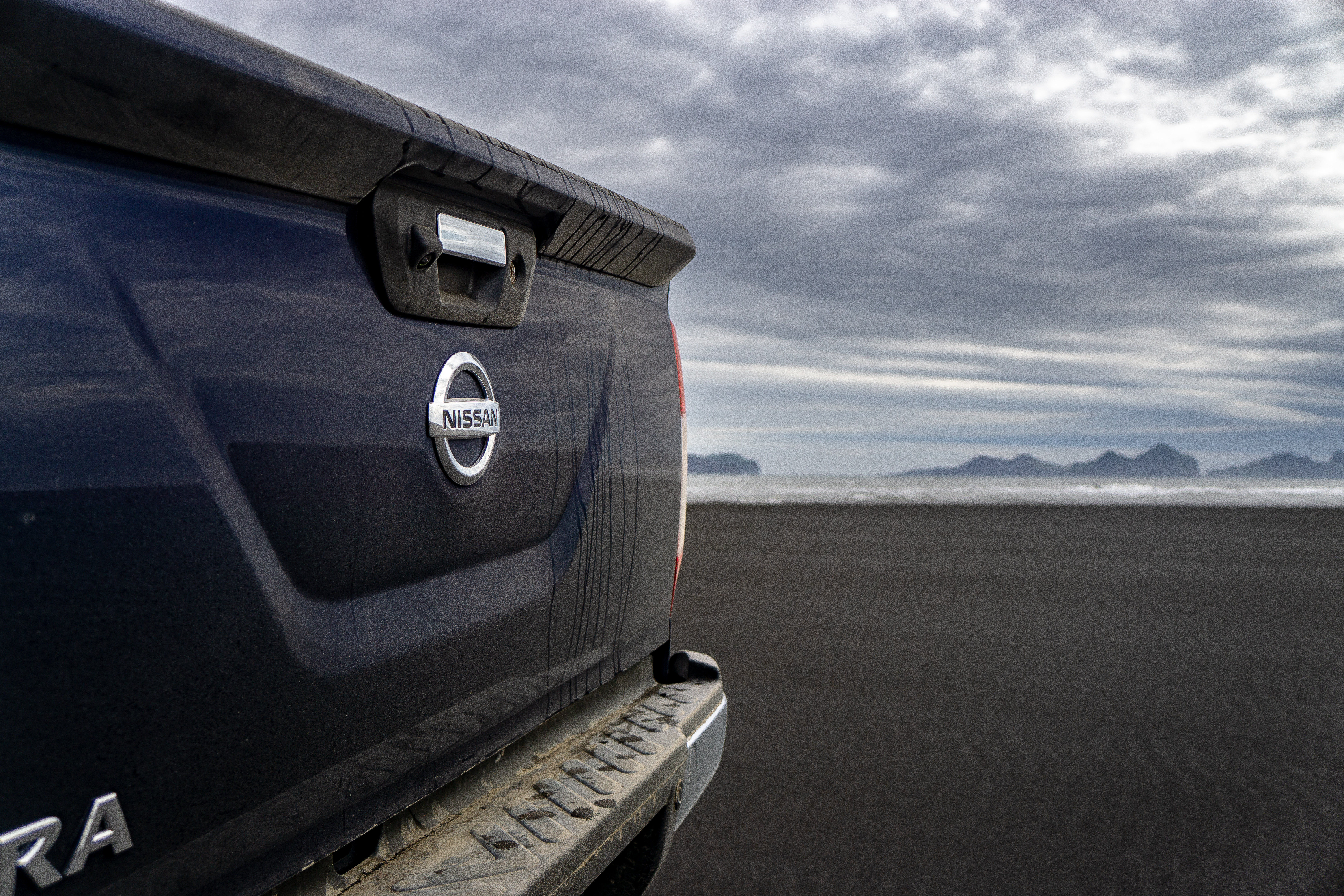 The Navara coped well with the wilds of Iceland