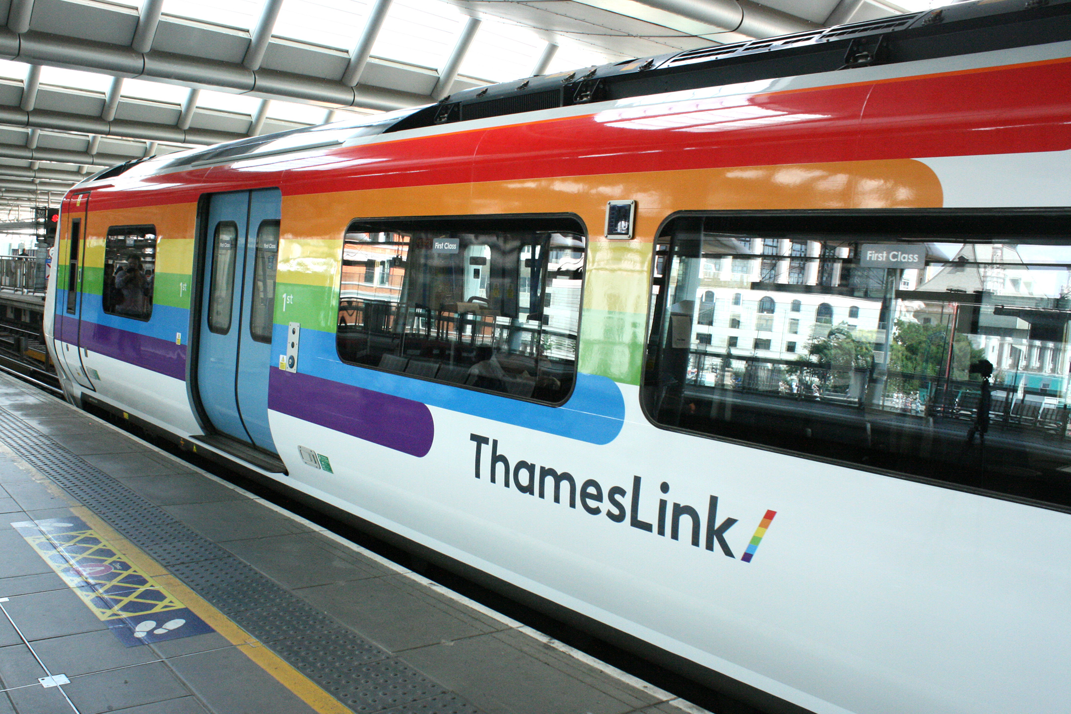 Additional services will run during Pride weekend (Govia Thameslink Railway/PA)