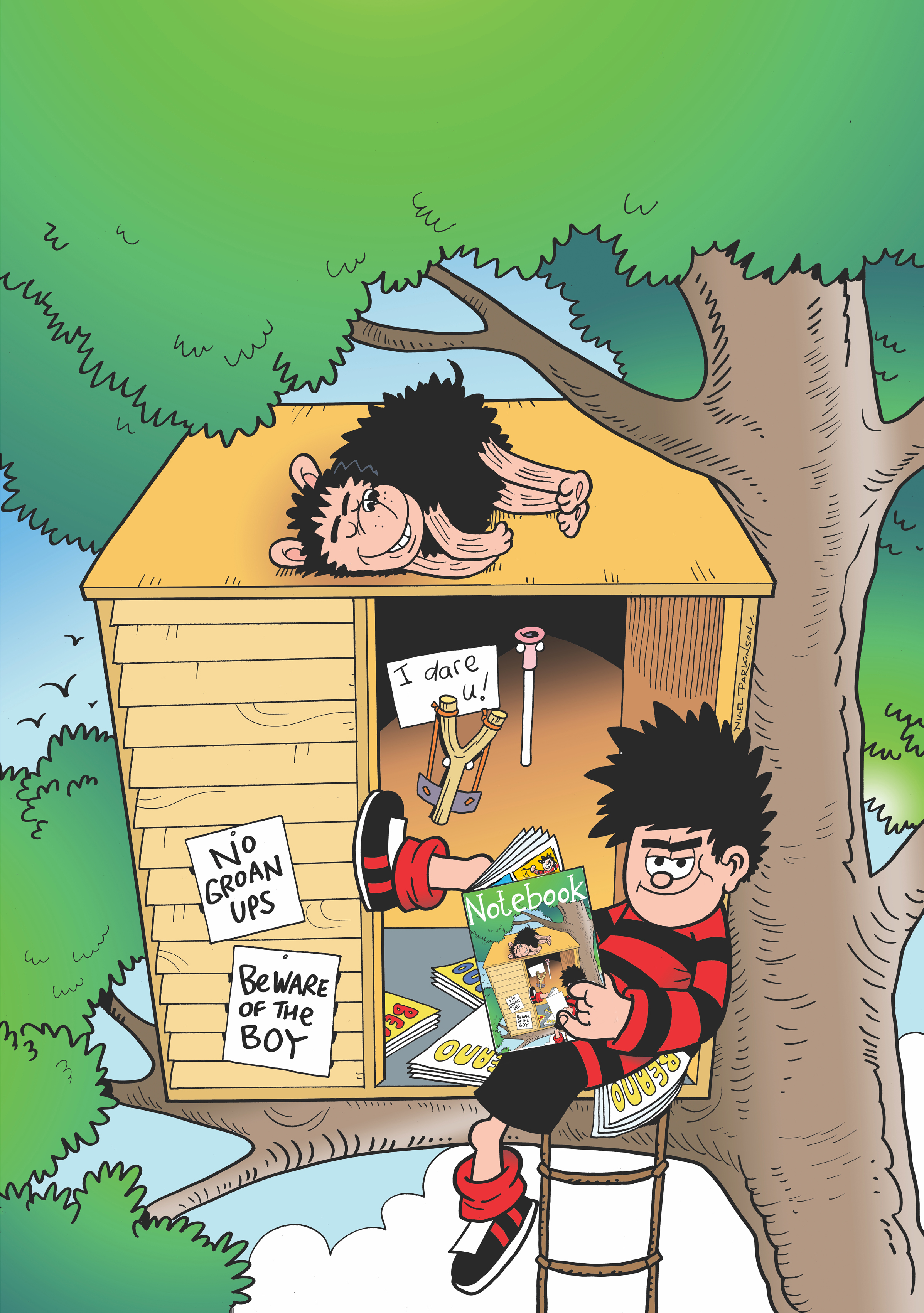 Beano fans are in for a treat at Mottisfont (Beano Studios/PA)