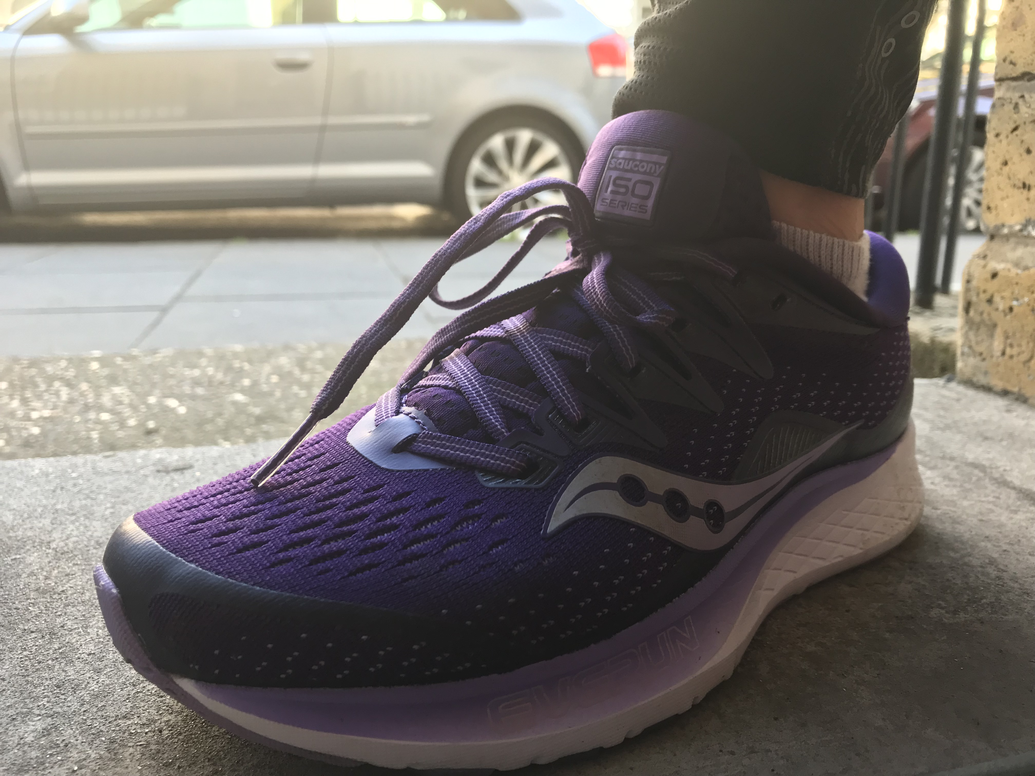 tested: Saucony Ride ISO 2 trainers