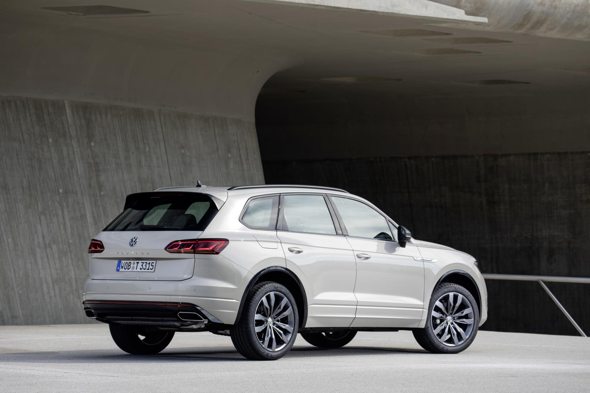 The Touareg has been in production since 2002
