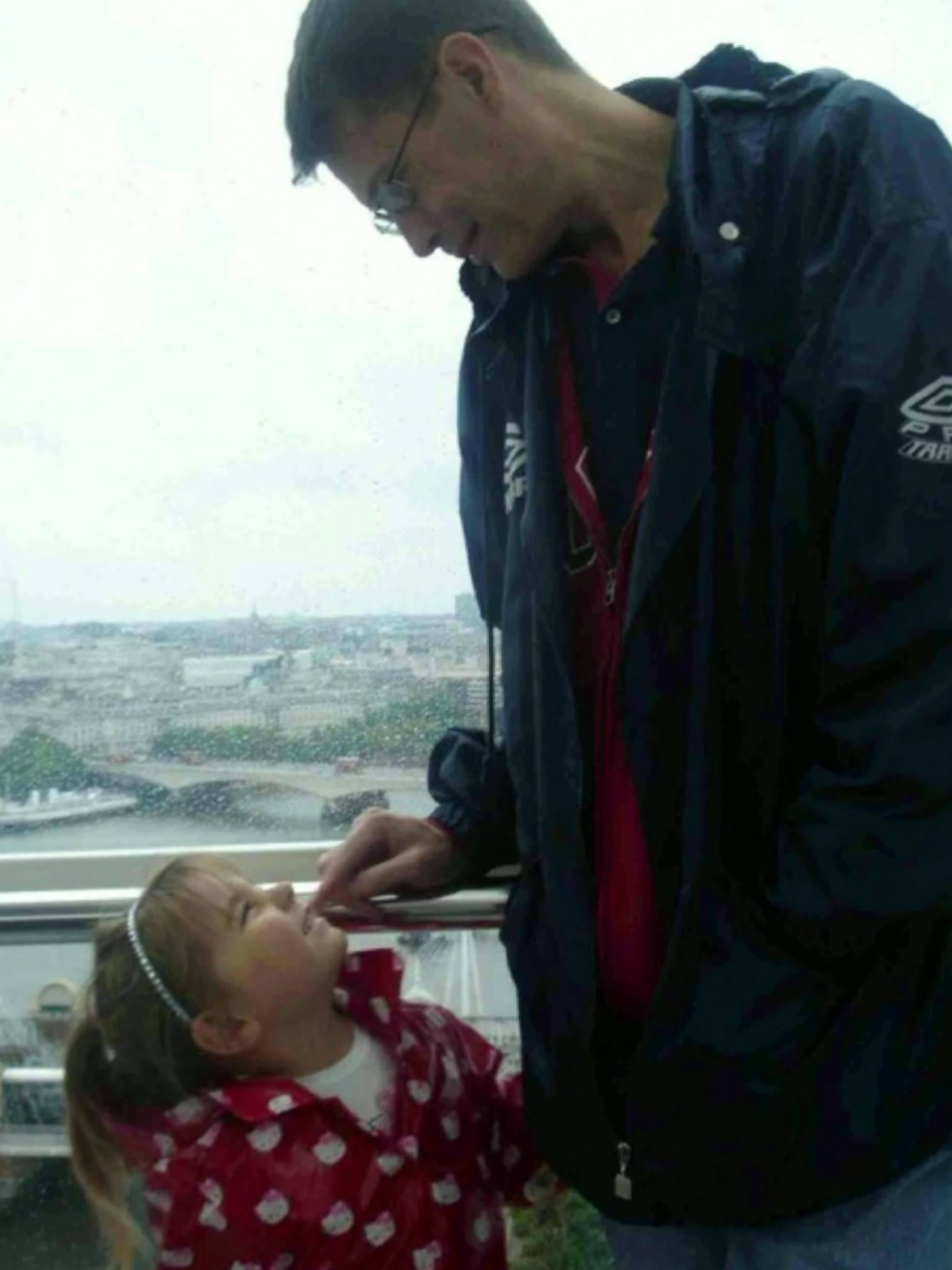 Paul Summers with his daughter Tia Summers supplied by Infected Blood Inquiry
