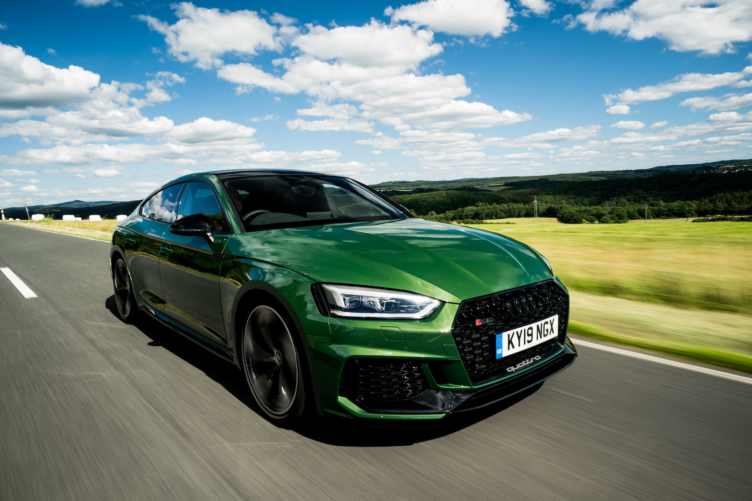 The RS5 is immensely powerful thanks to a turbocharged V6