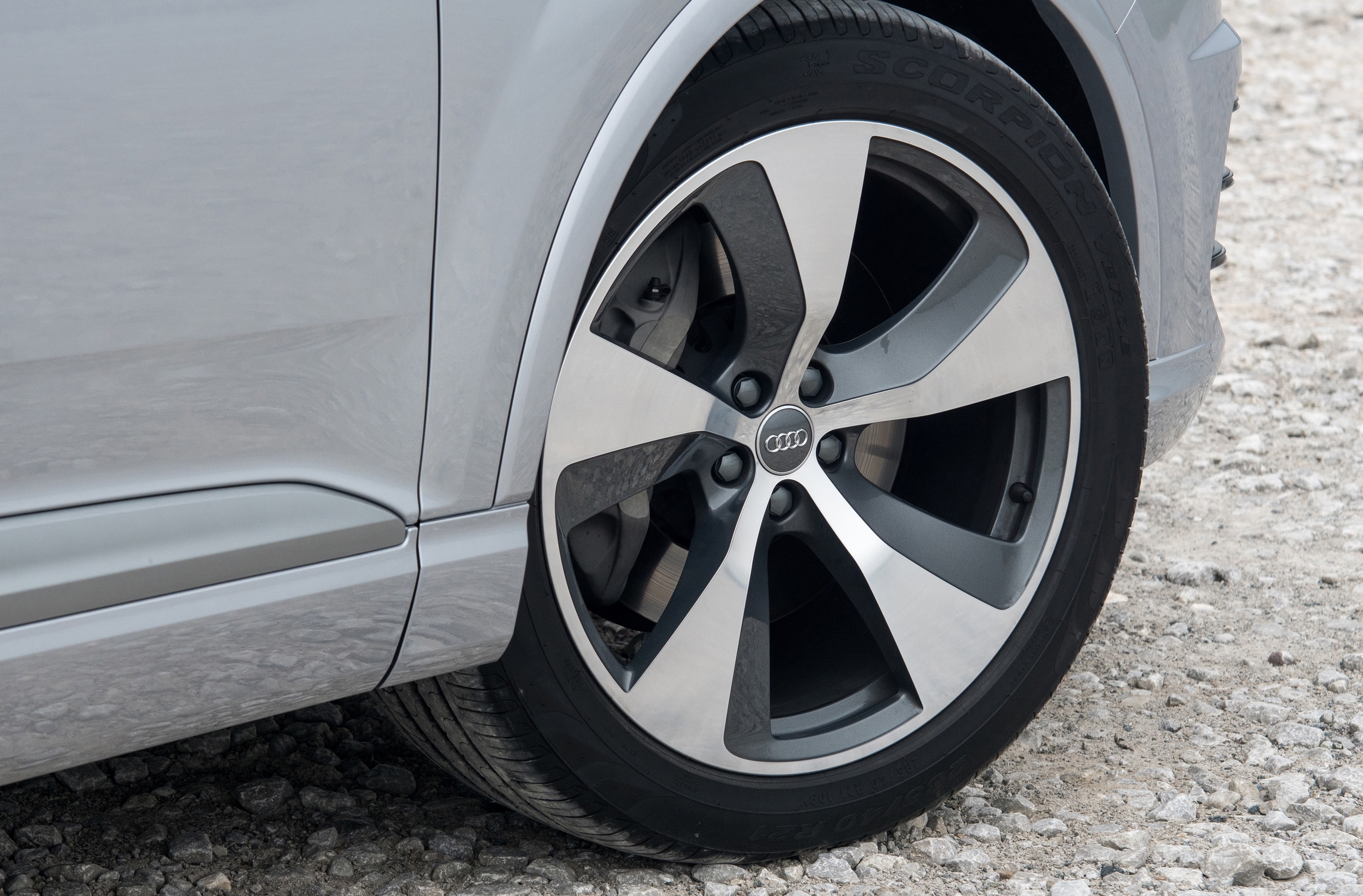 Big alloy wheels can vastly affect the way a car rides