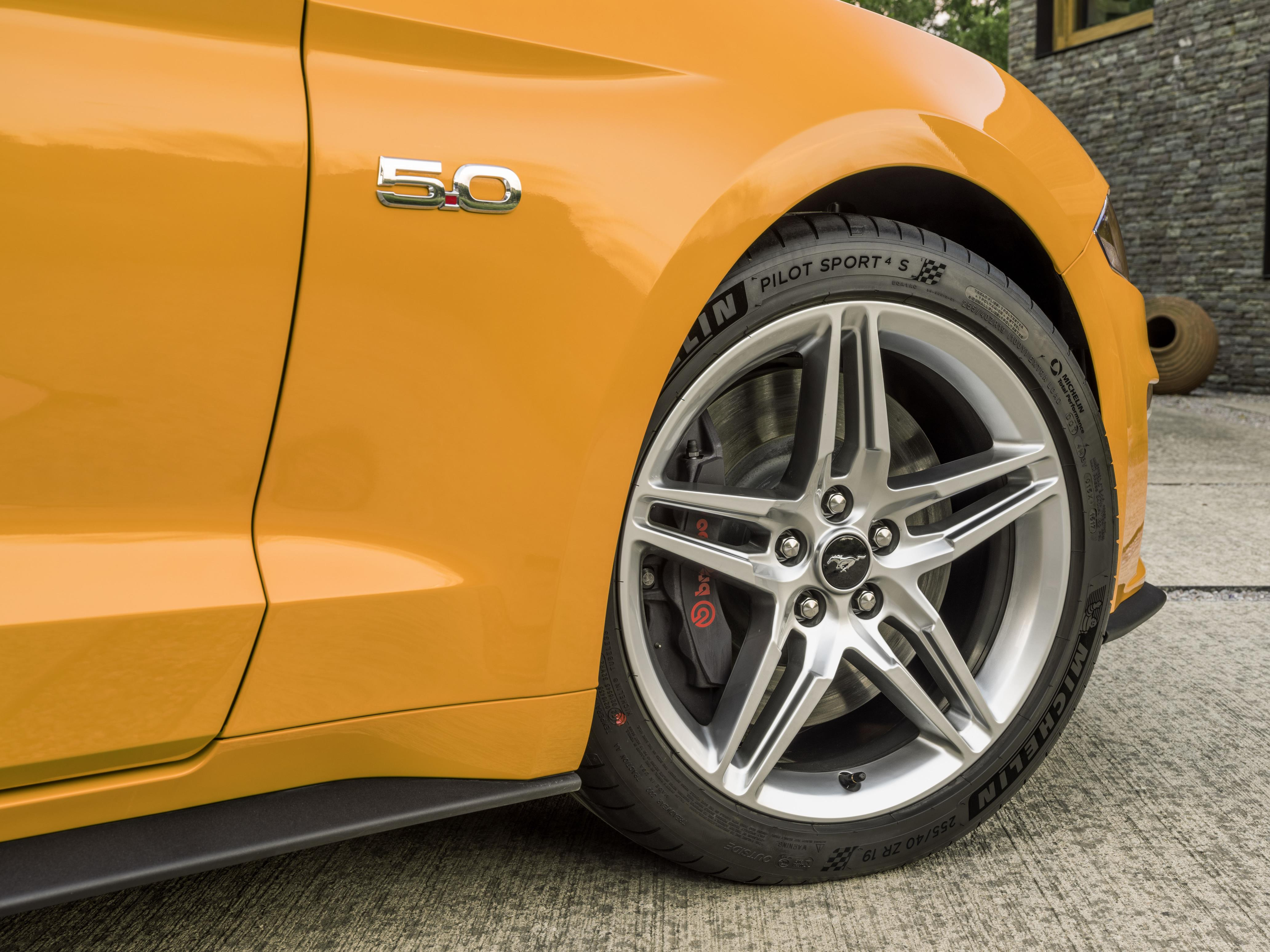 Large alloy wheels mean more expensive tyres