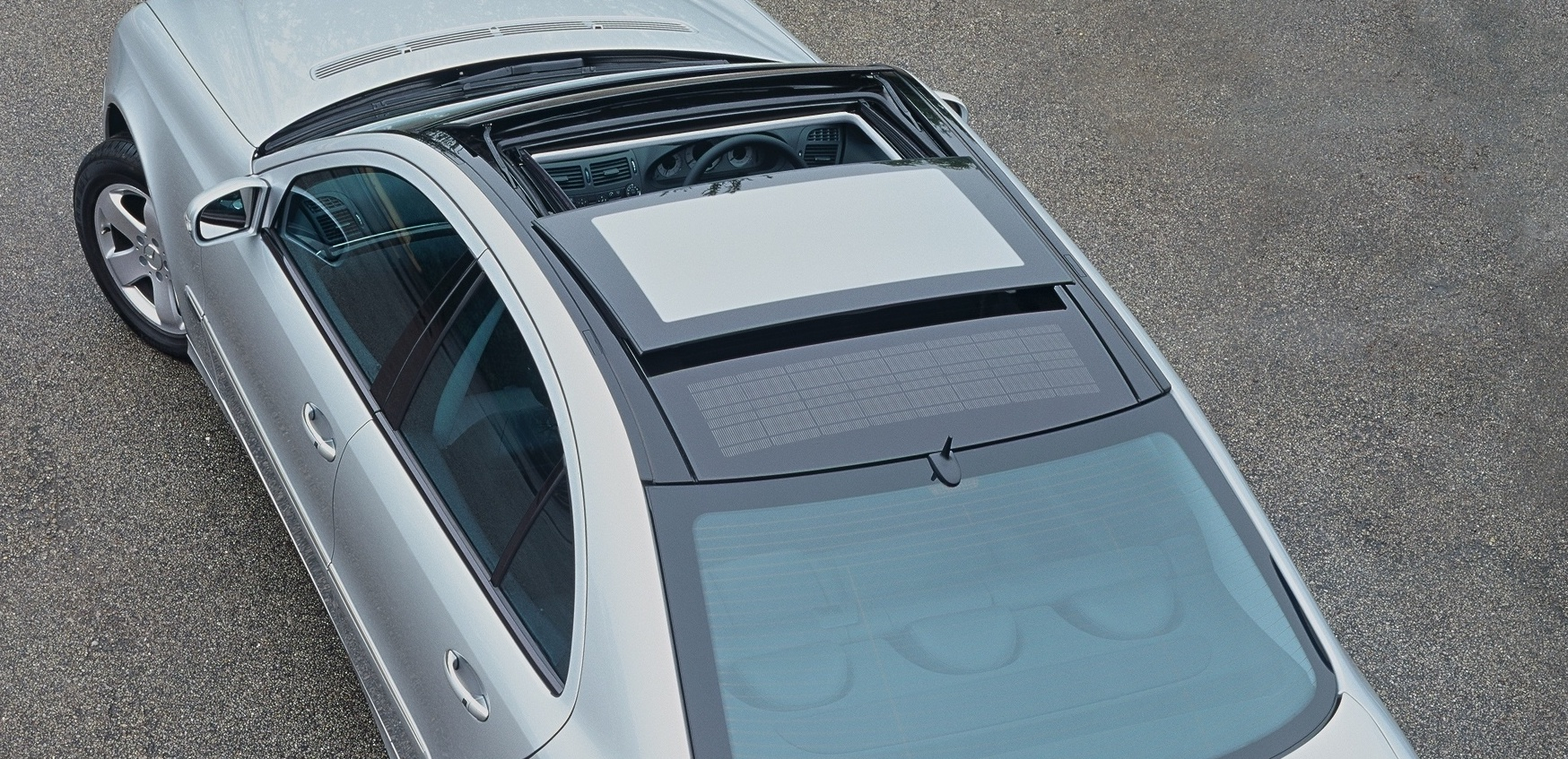 A panoramic sunroof can eat into headroom