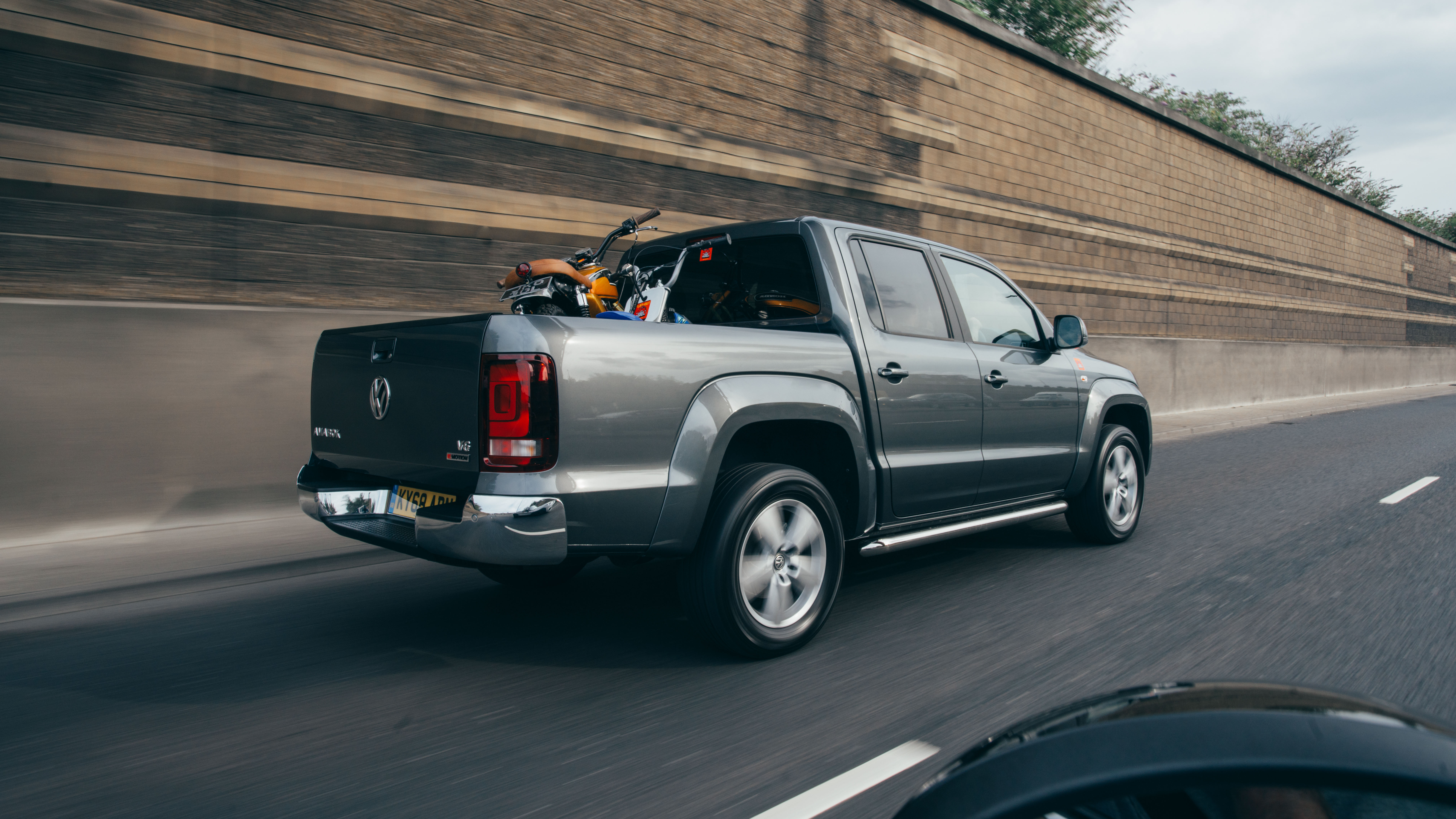 The Volkswagen Amarok is loaded up with kit