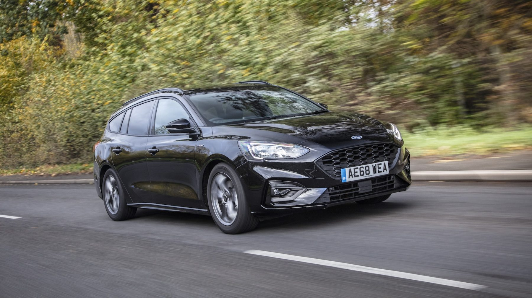 The Focus Estate is one of the better-handling small estate cars on the market