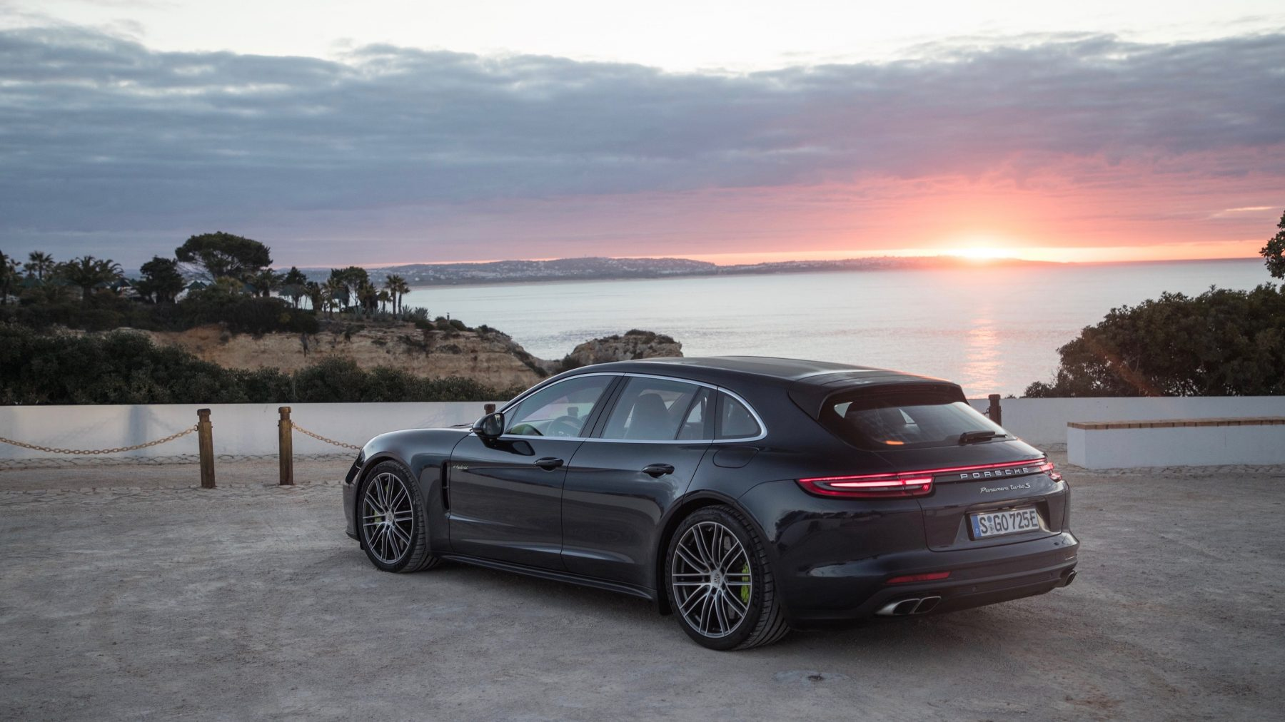 The Porsche Pananmera Sports Turismo lies on the sportier end of the estate spectrum