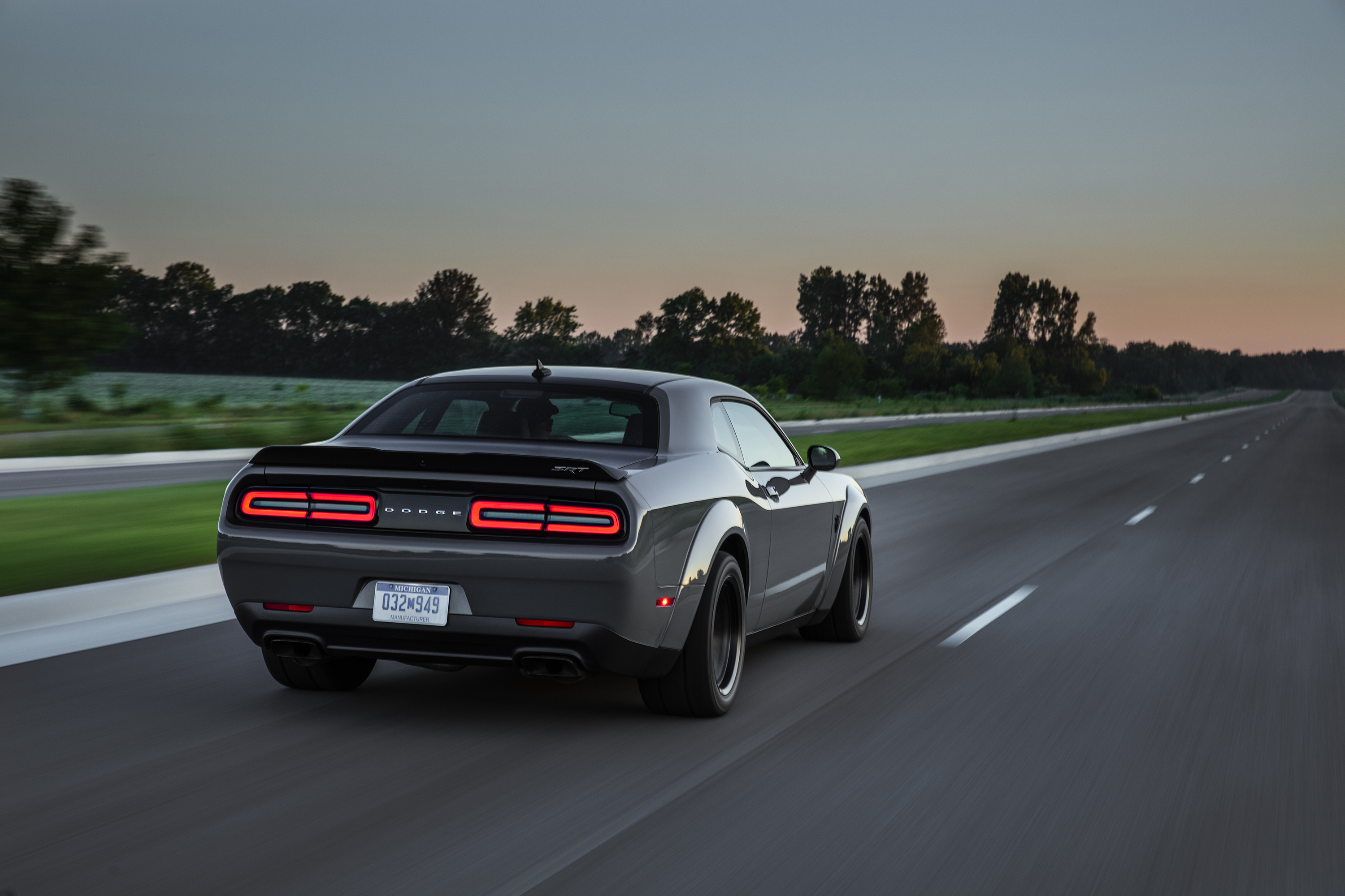 The Challenger SRT is one of the latest, greatest muscle cars