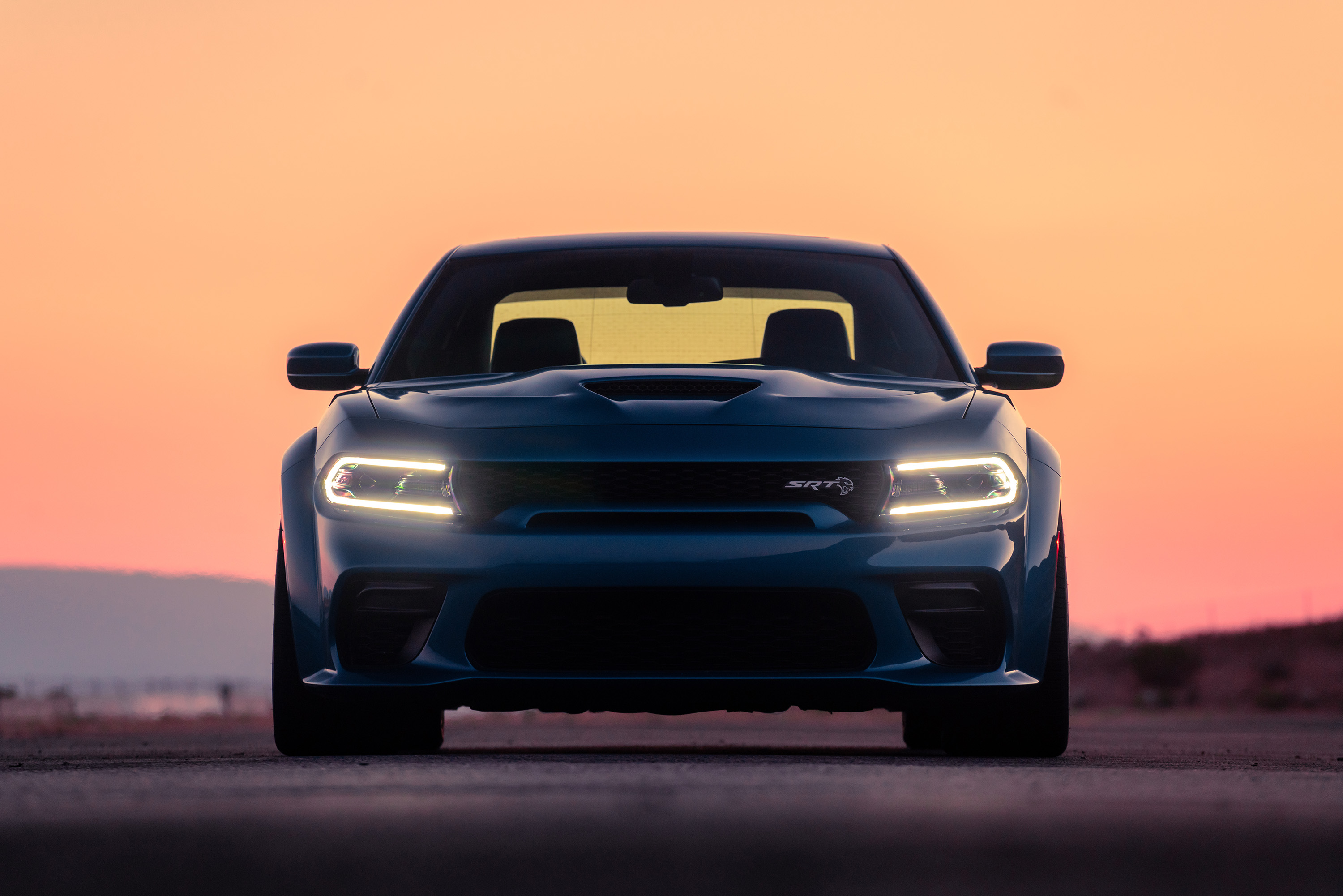 The Charger Widebody's imposing stance is hard to miss